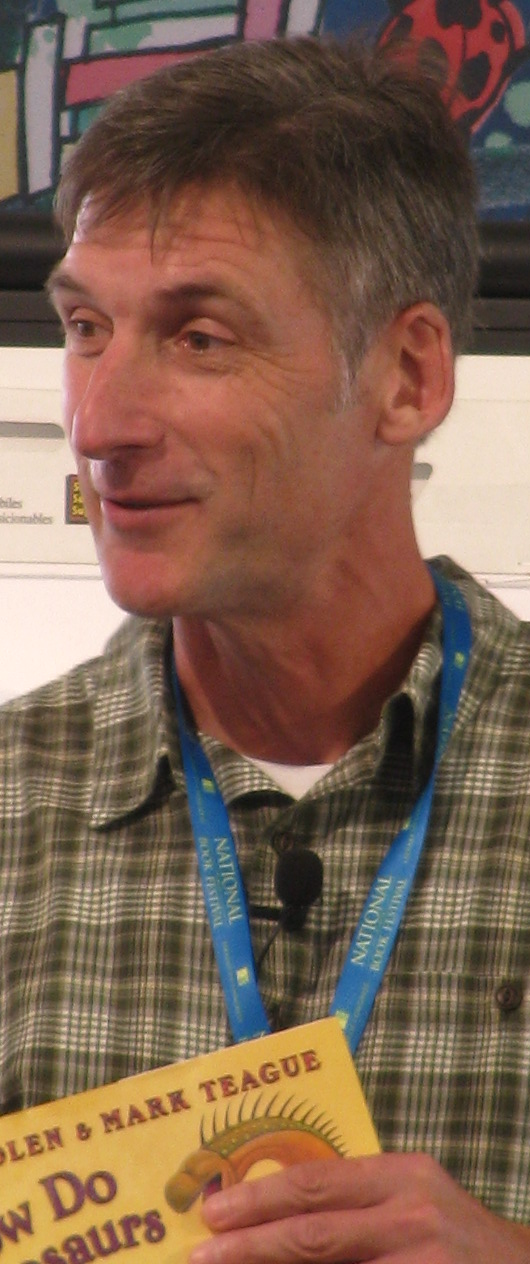 Teague at the 2013 [[National Book Festival]]