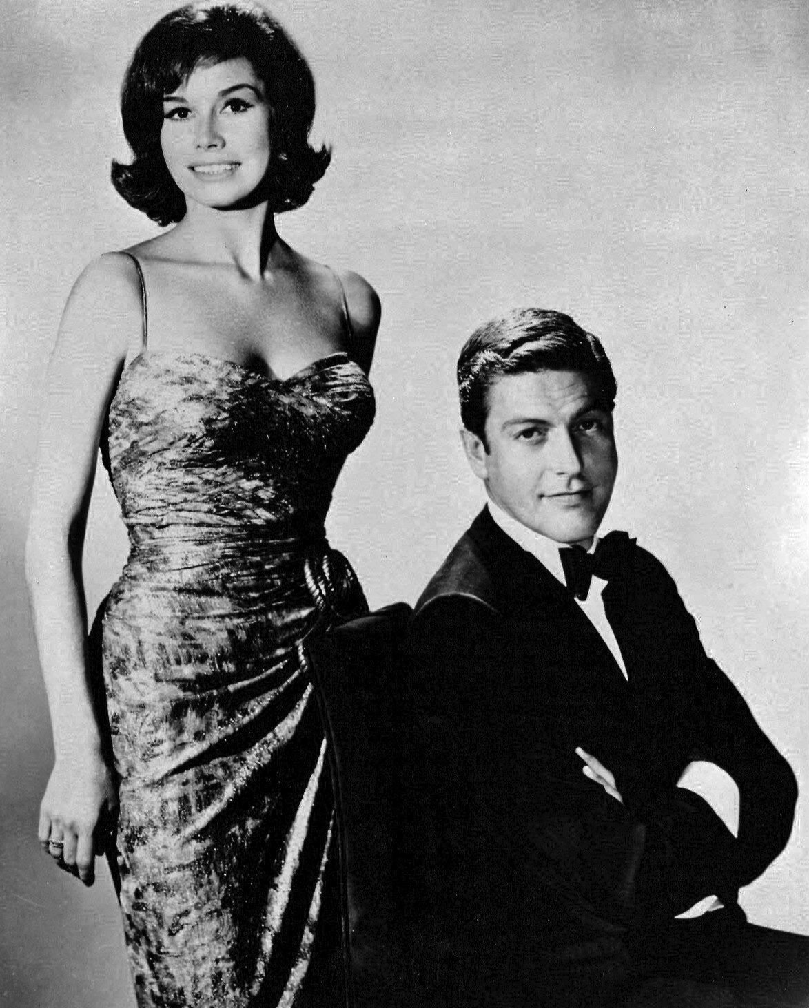 With Dick Van Dyke, 1966