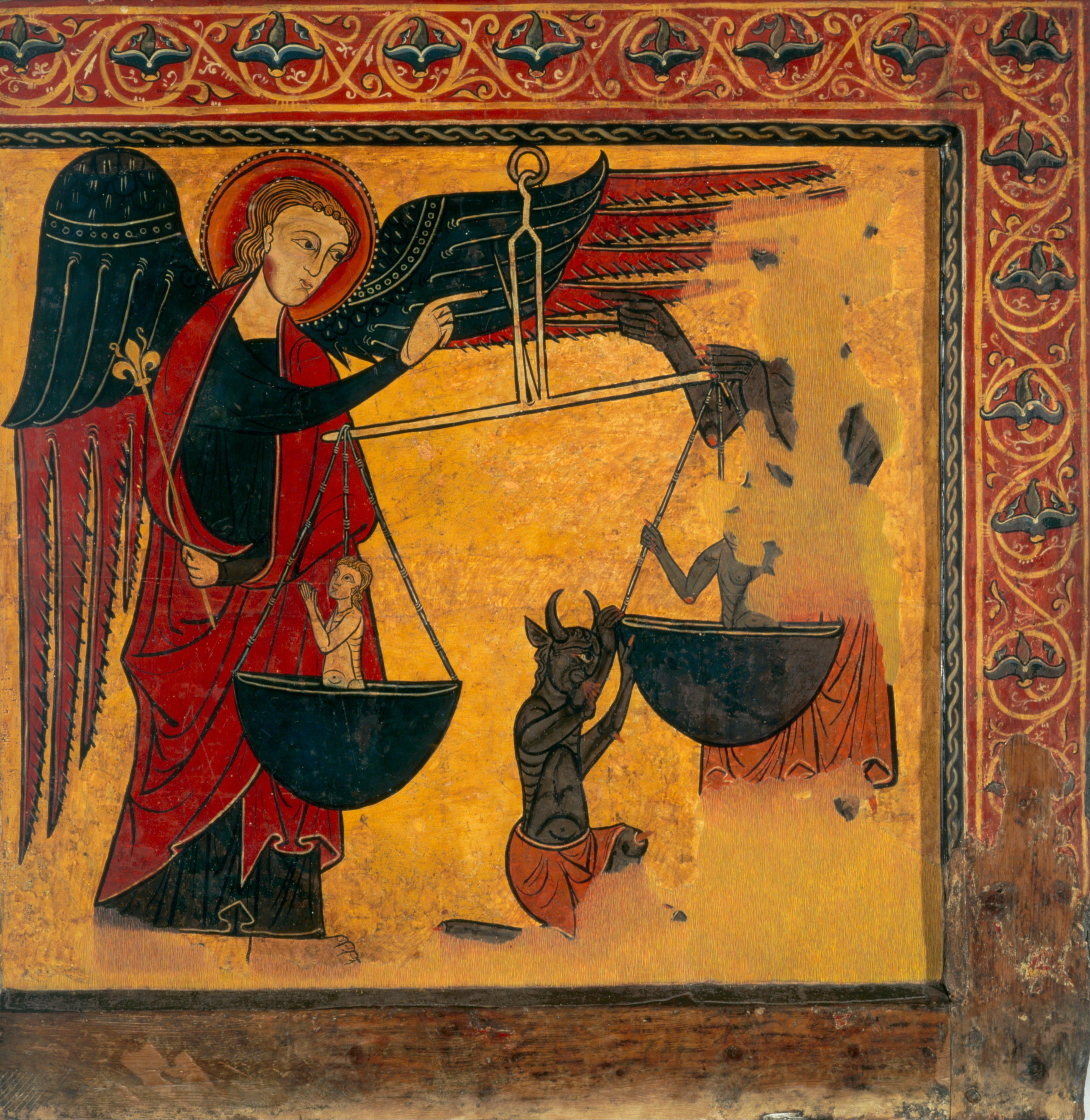 File Master Of Soriguerola Saint Michael Weighing Souls
