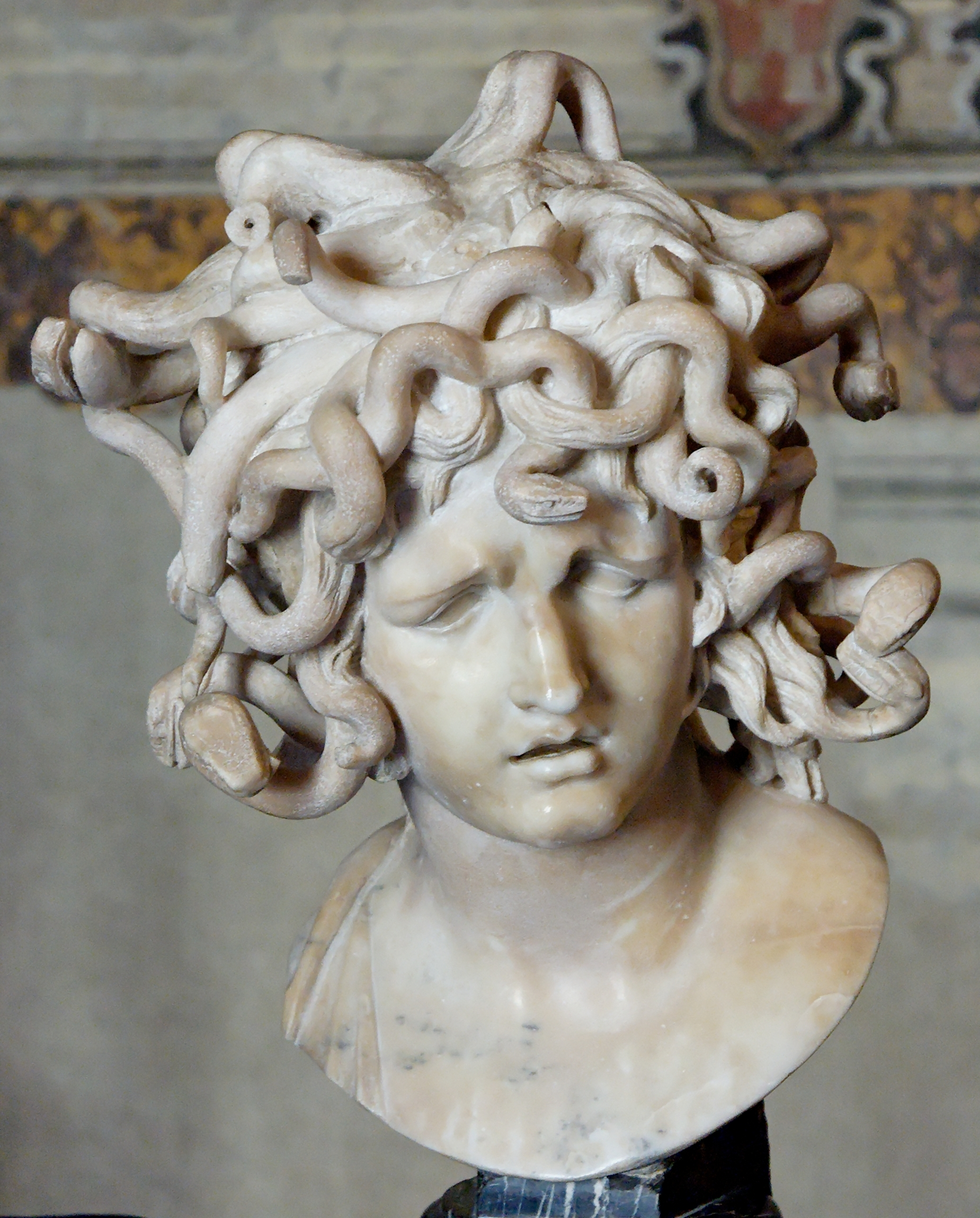 The myth of Perseus and Medusa