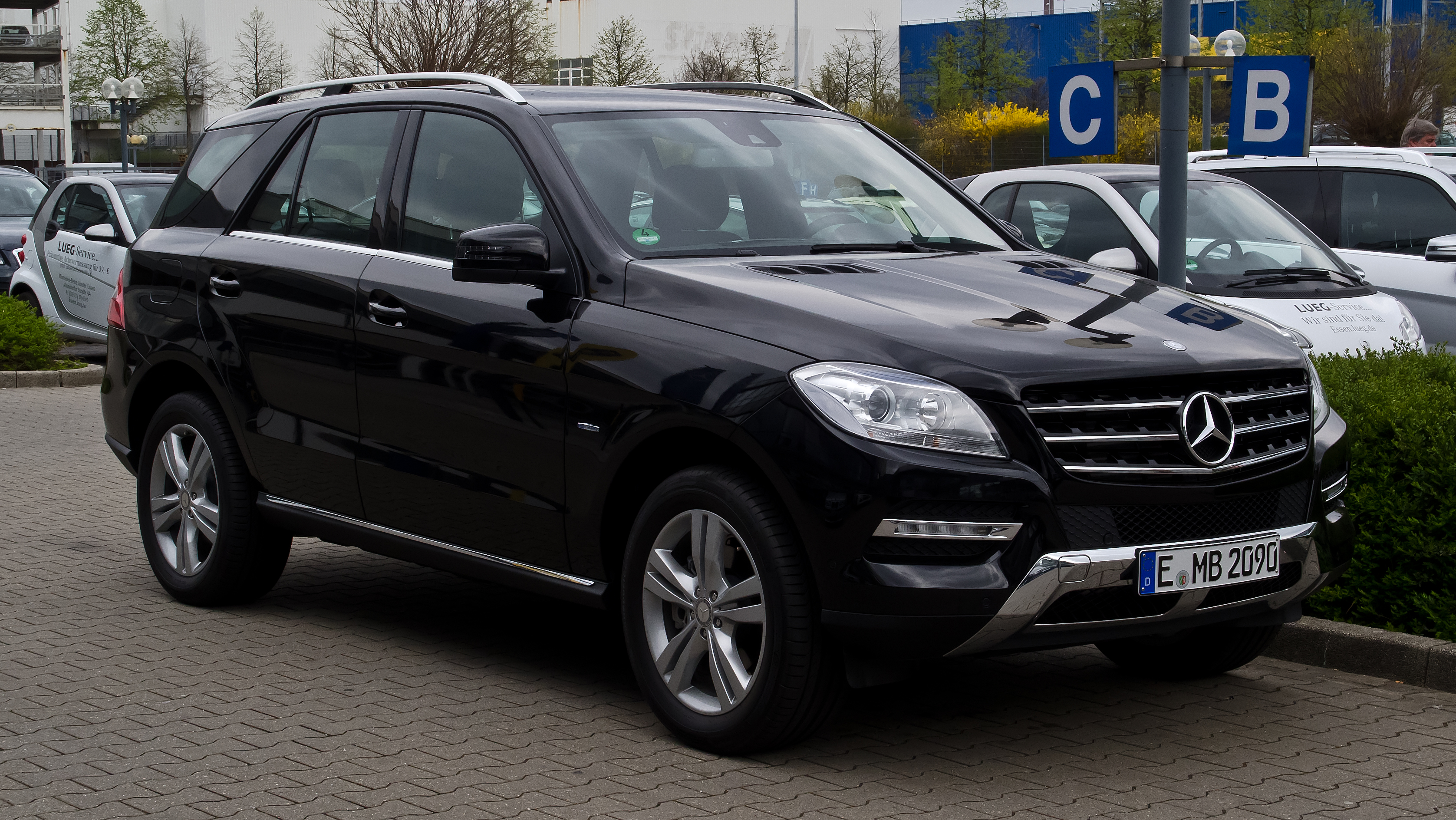 mercedes benz ml 250 bluetec 4matic w 166 frontansicht 1 april 2012. Black Bedroom Furniture Sets. Home Design Ideas