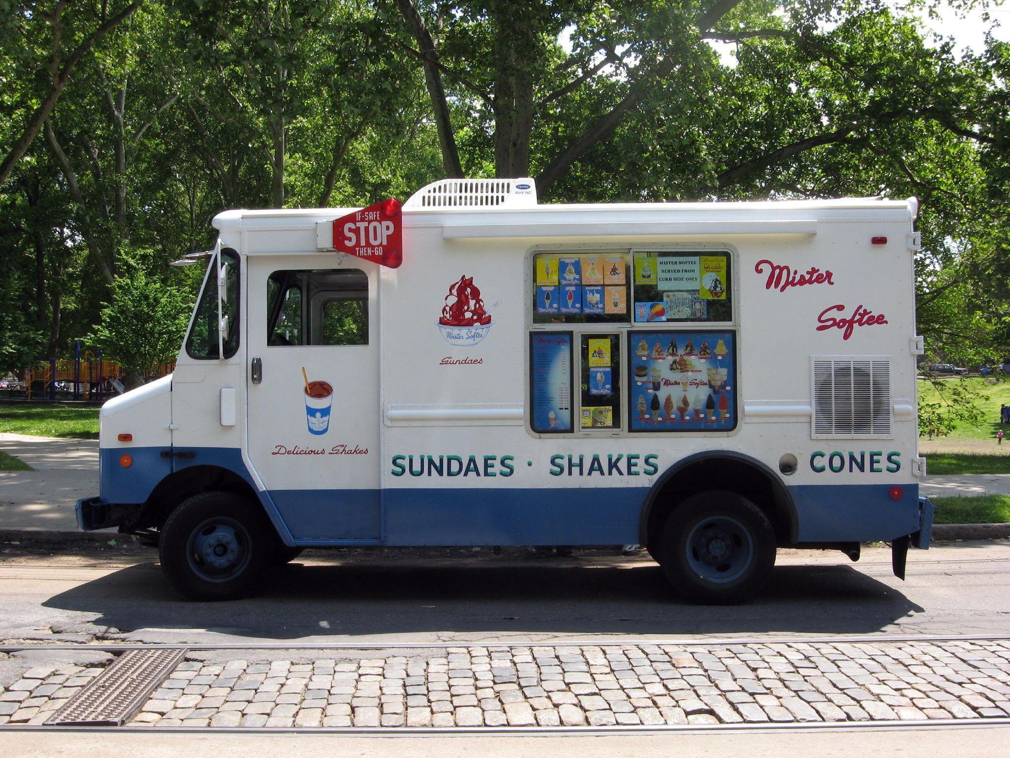 Ice Cream Truck Mr Softee Thief caught af...
