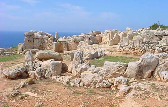 Tempelanlage Mnajdra im Süden Maltas