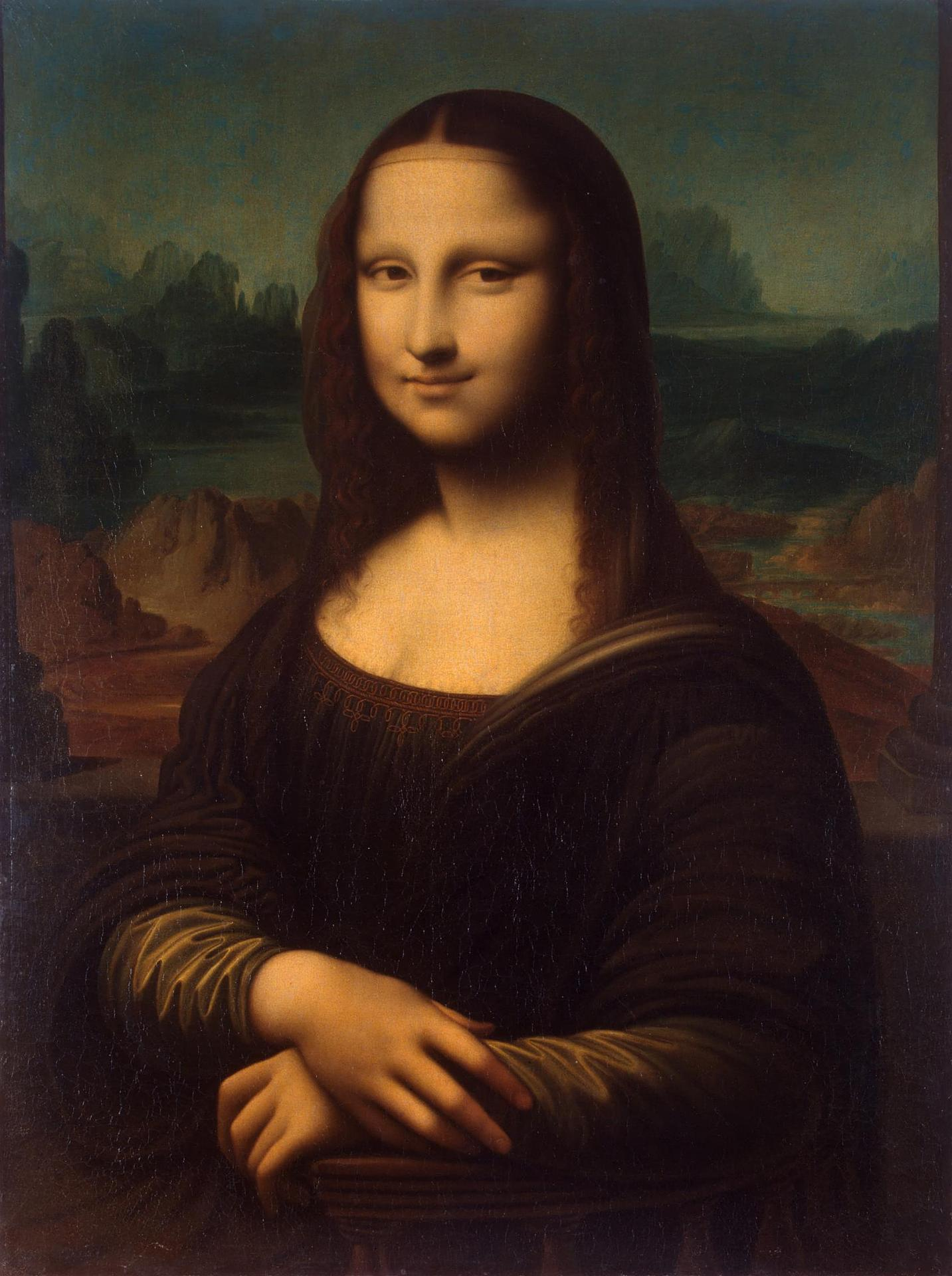Unknown artist Mona Lisa (copy), Hermitage.