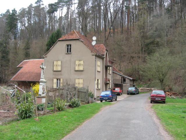 Montbronn's former watermill