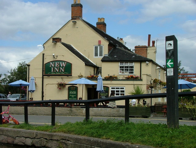 New Inn - Shardlow - geograph.org.uk - 539844