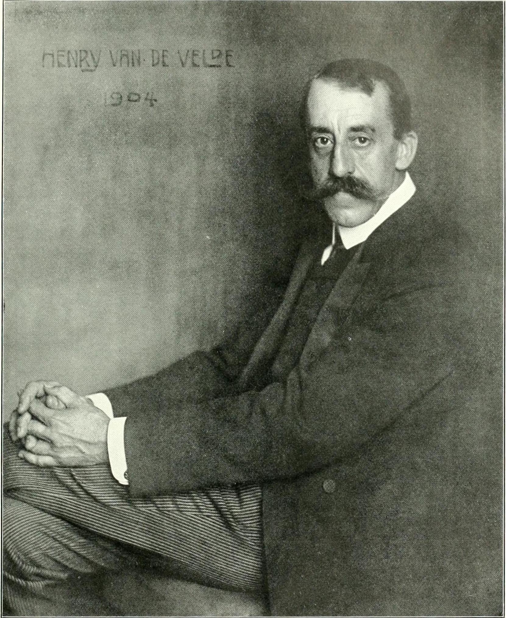 stowa - [REVUE] Stowa Antea Small Second : l'horlogerie à l'heure du Bauhaus Nicola_Perscheid_-_Henry_van_de_Velde_1904