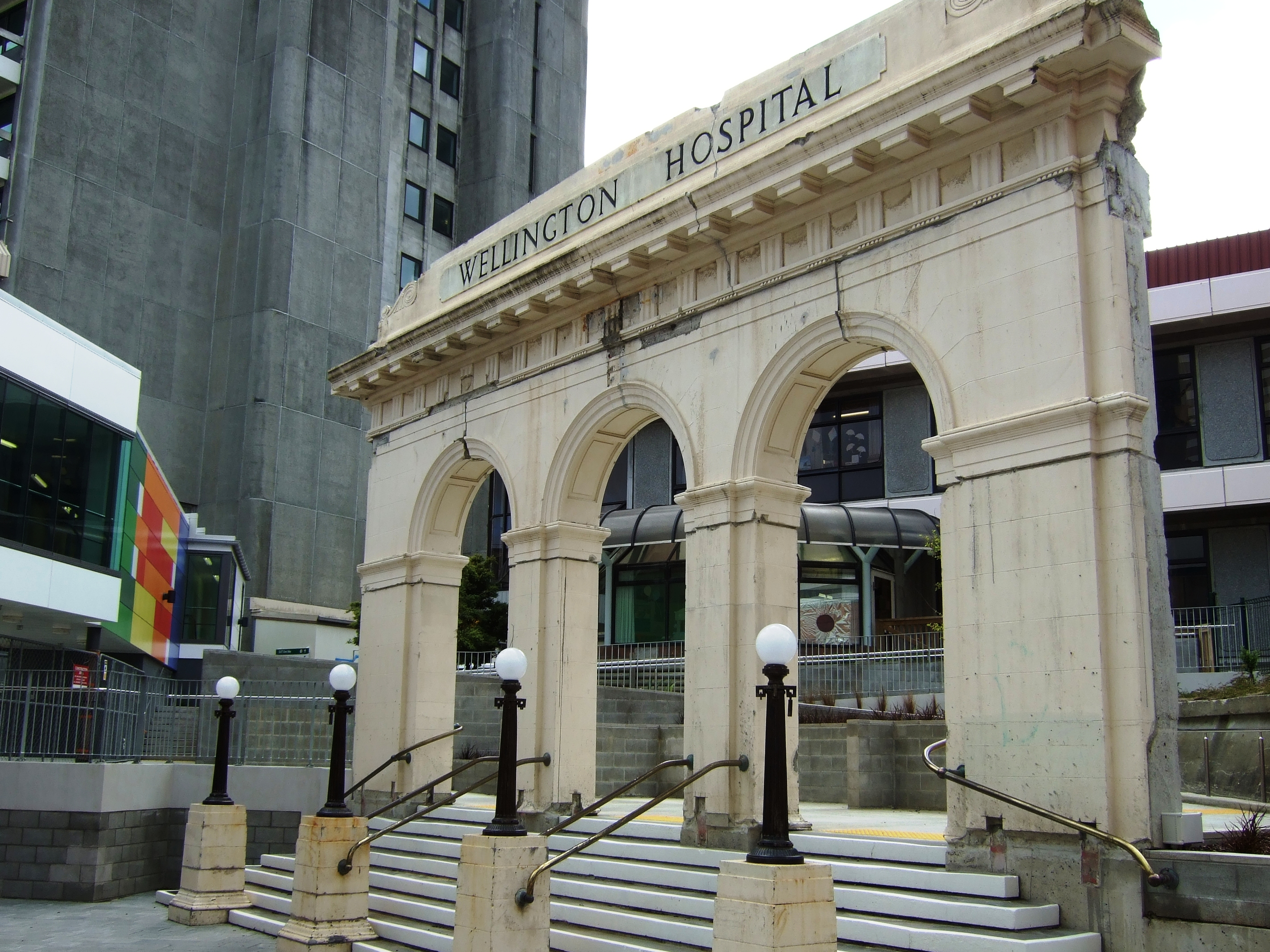 Wellington Hospital, New Zealand - Wikipedia