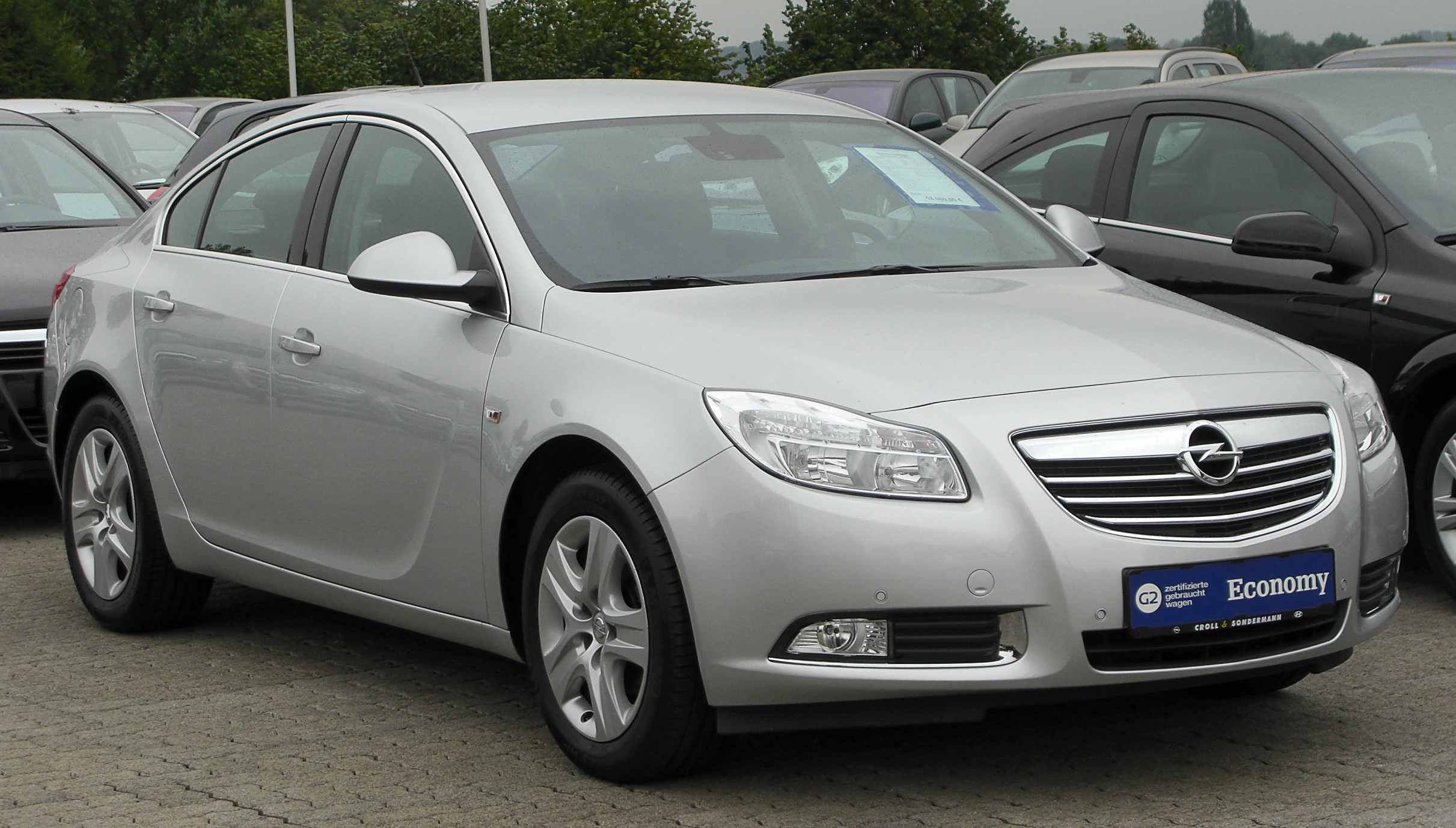 File Opel Insignia 1 6 Edition Front 20100912 Jpg