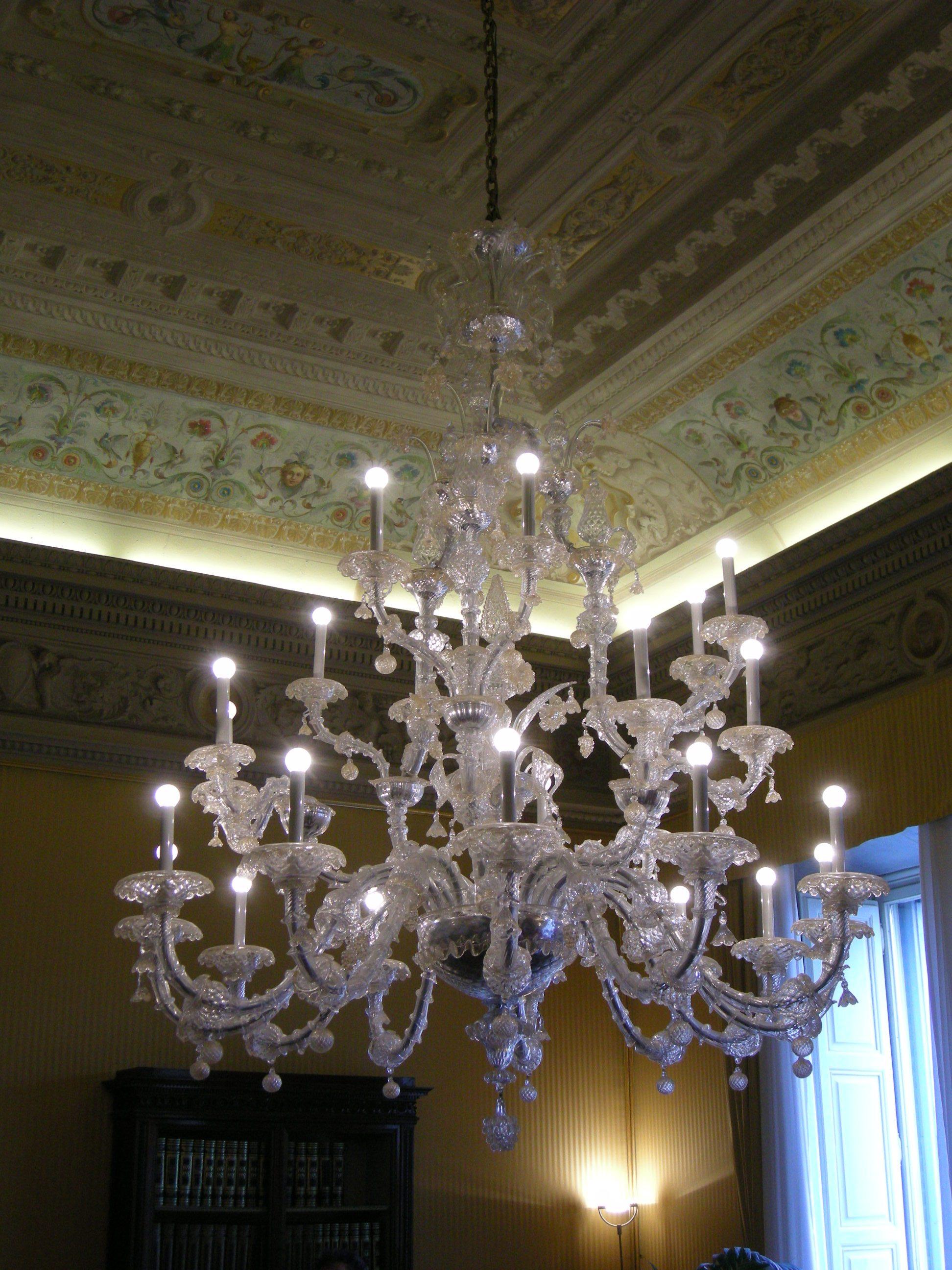 File palazzo della banca d 39 italia fi secondo piano sala - Lampadario sala ...