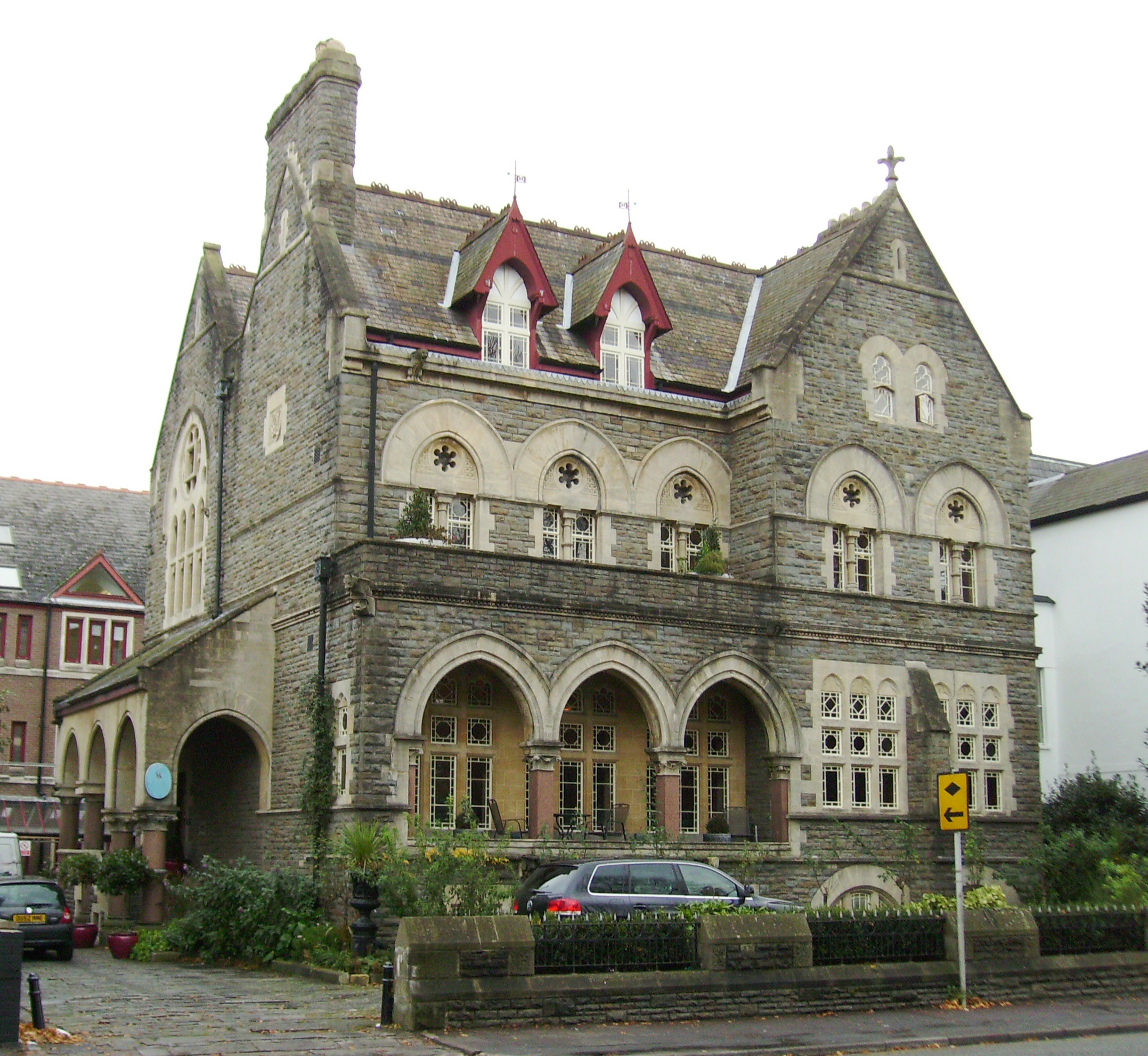 File Park House Cardiff Jpg Wikimedia Commons