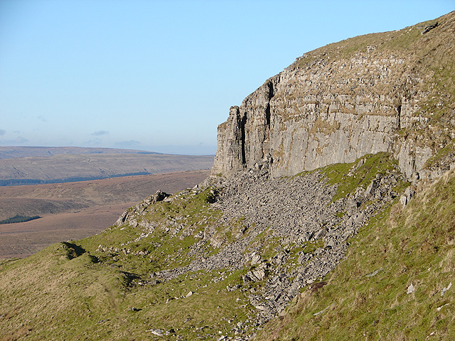 Pen-y-ghent Side - geograph.org.uk - 497866