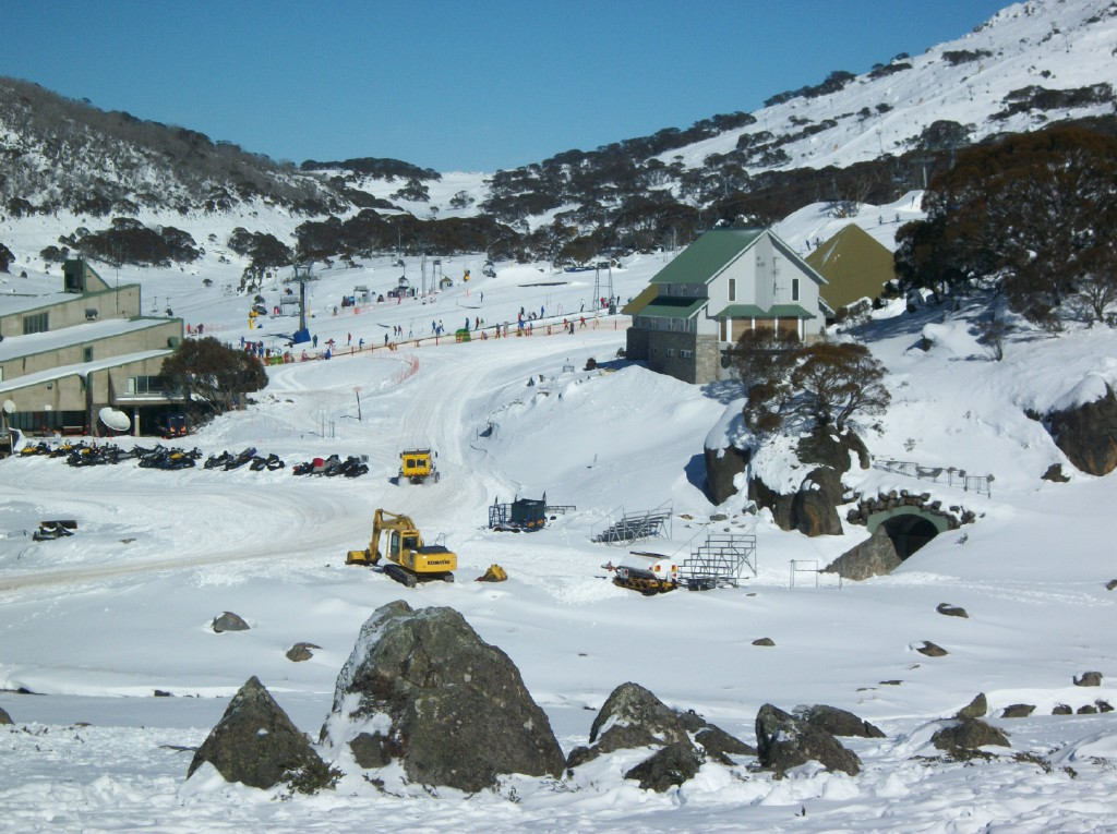 Landscape view of perisher- One of the best ski resorts in Australia