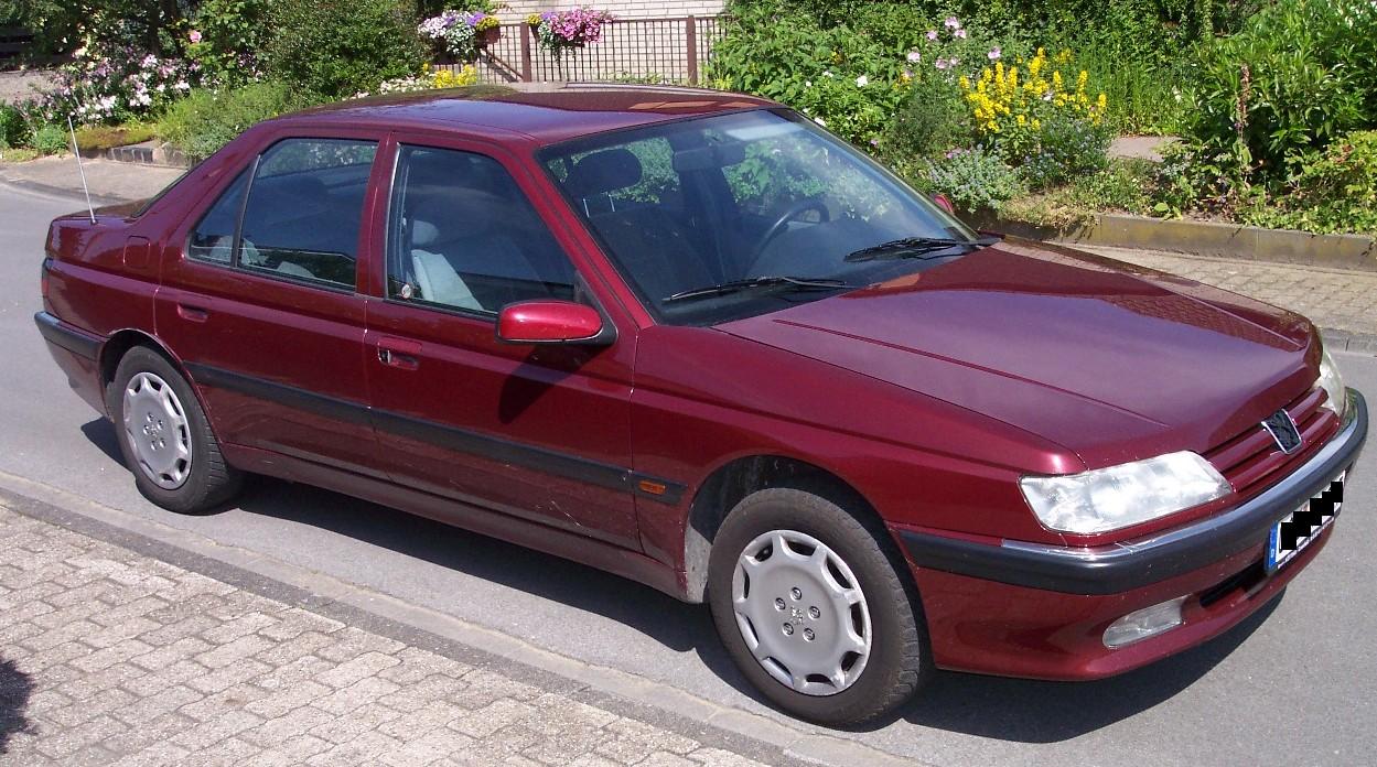 Archivo Peugeot 605 Red Vr2 Jpg Wikipedia La