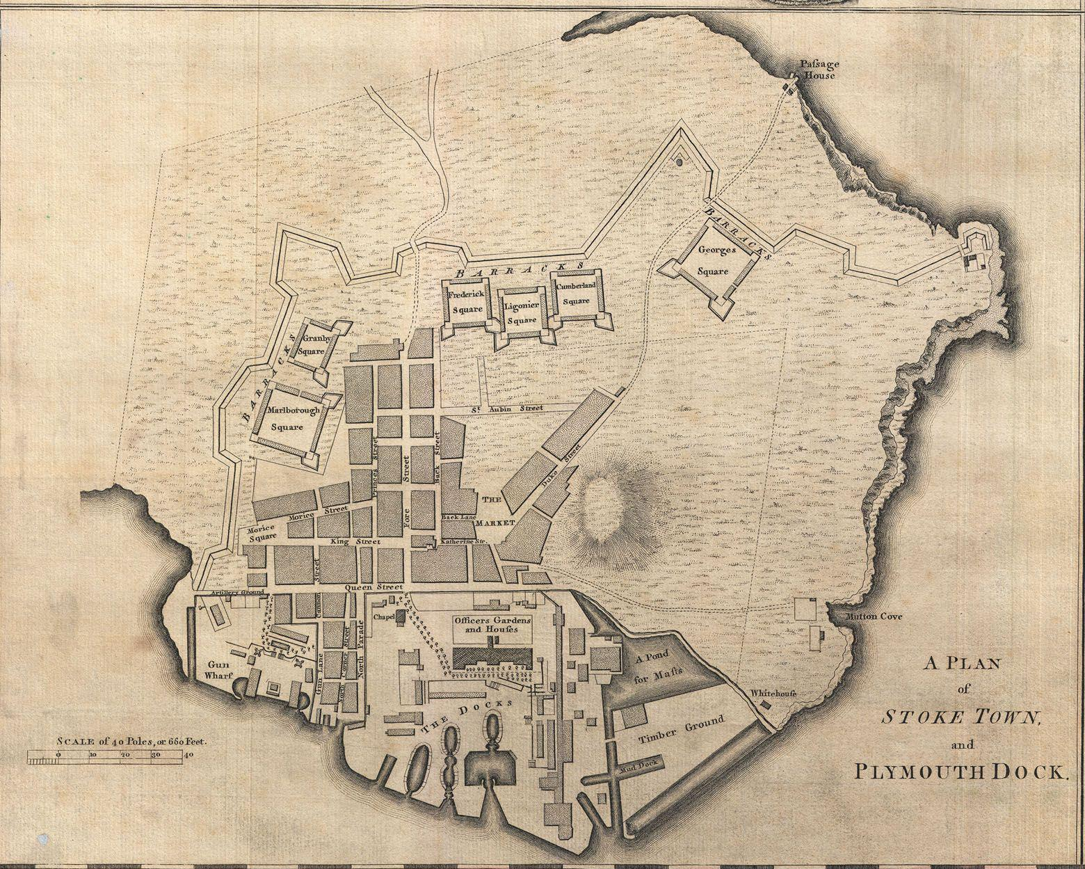 File:Plan of Stoke Town and Plymouth Dock - Benjamin Donn, 1765.jpg