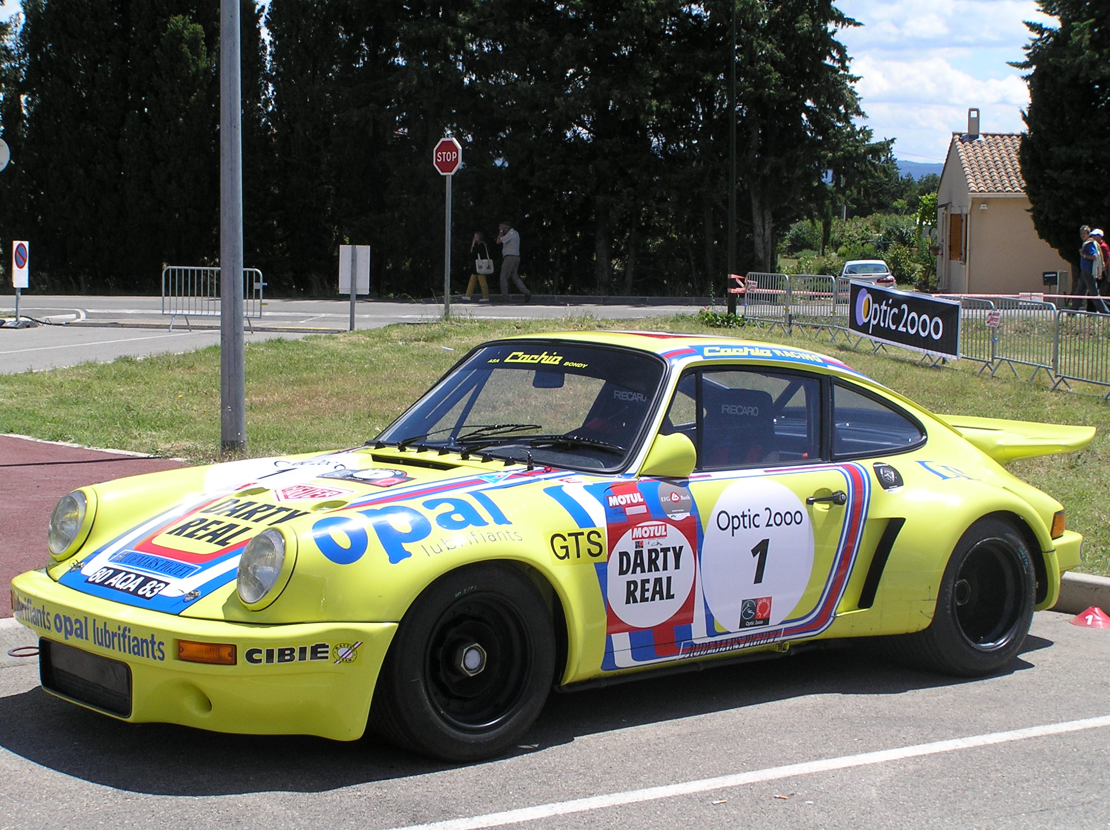 Porsche 911 RSR Type G IROC group 4 (1974) - Racing Cars