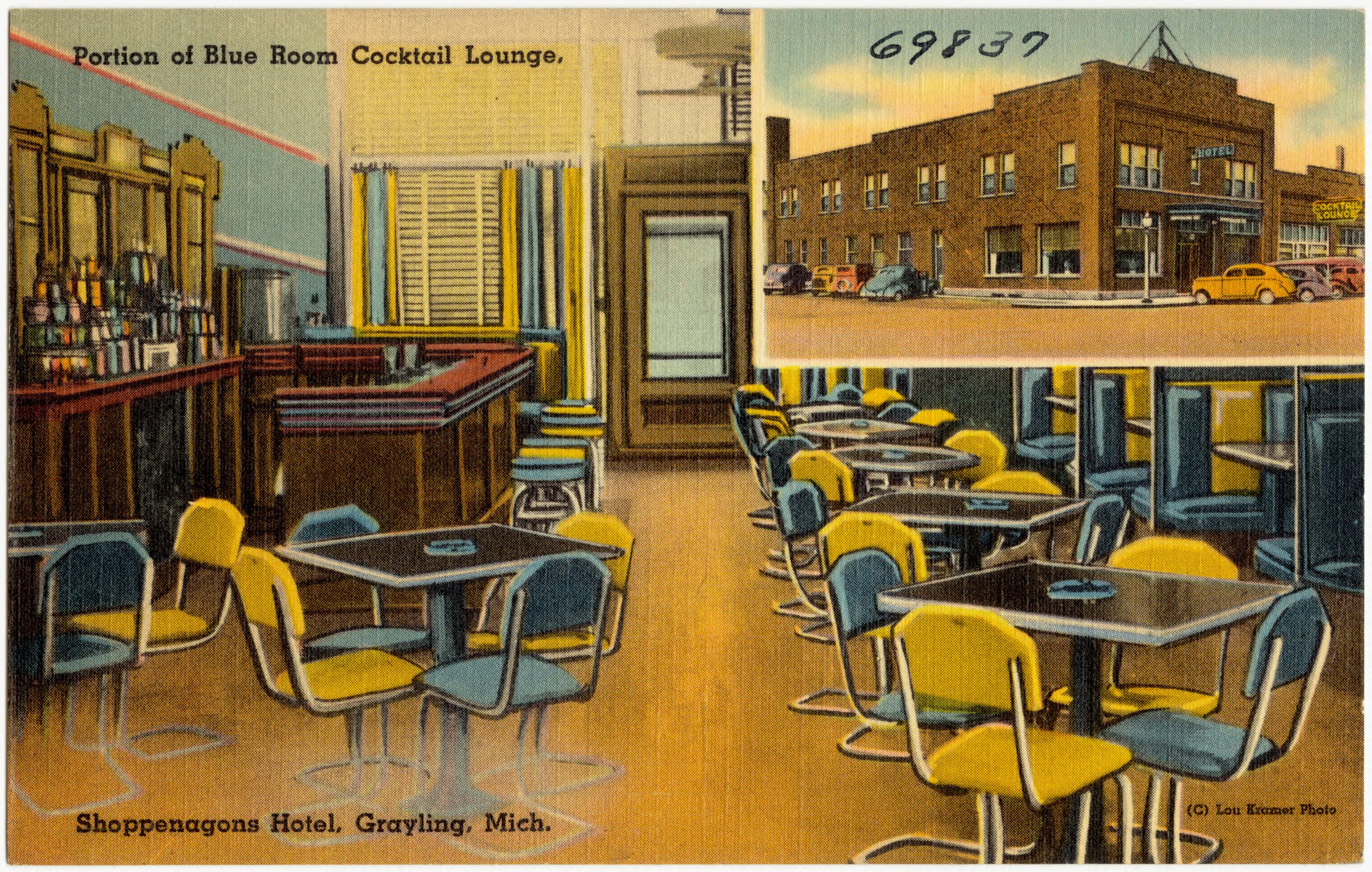 File Portion Of Blue Room Tail Lodge Penagone Hotel Grayling Michigan