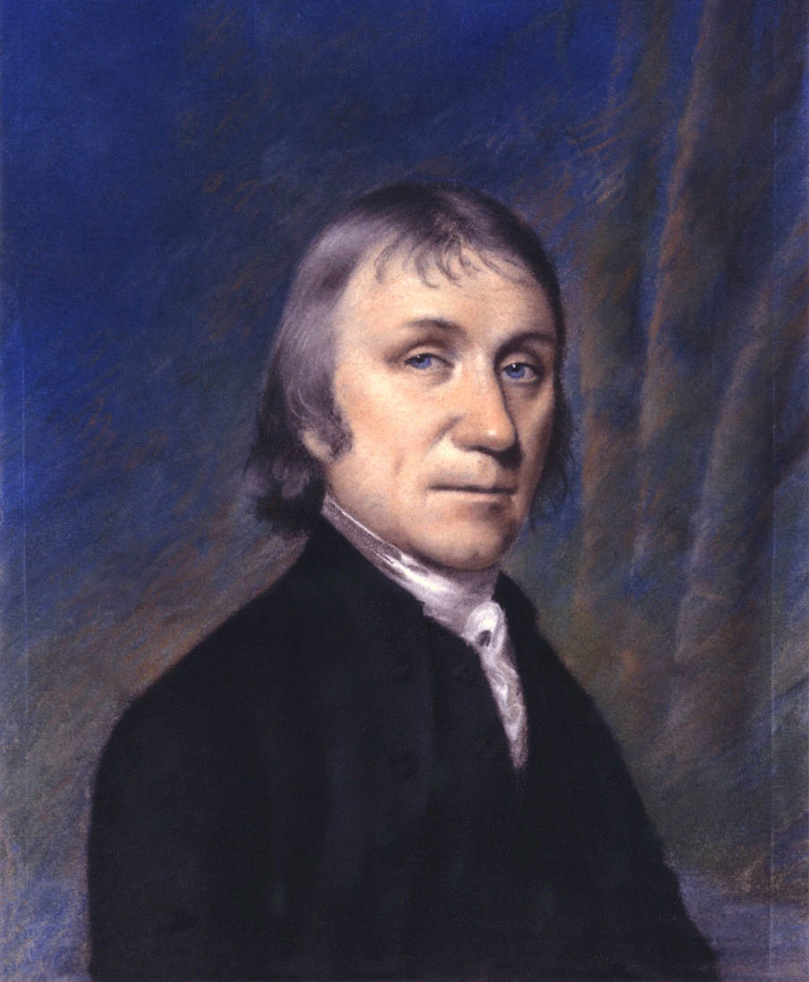 Depiction of Joseph Priestley