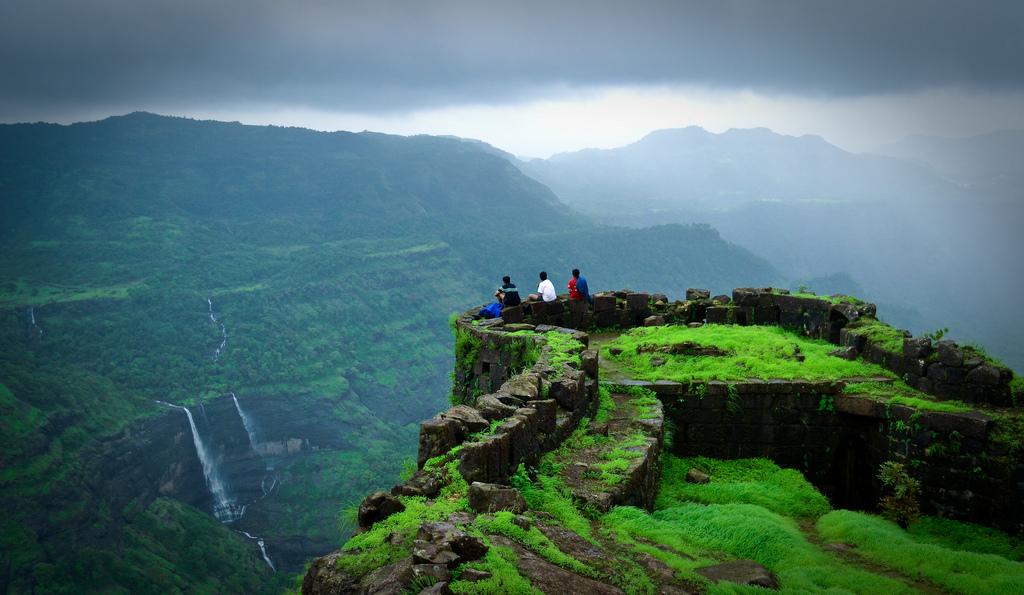 Image result for rajmachi fort