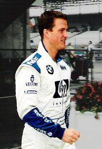 Ralf Schumacher (pictured in 2002) finished third for the second consecutive Grand Prix.