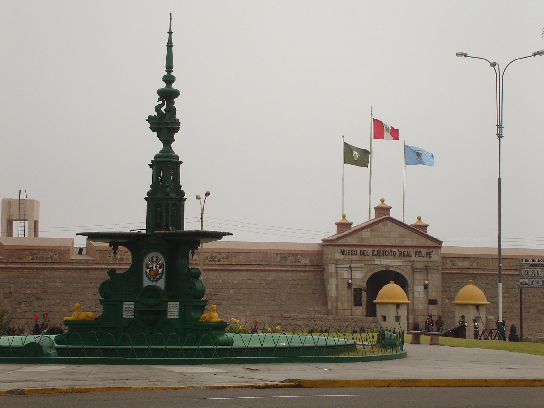 Depiction of Fortaleza del Real Felipe