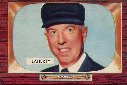 Red Flaherty played for Falmouth in 1936, then umpired in the American League for over 20 years. Red Flaherty.jpg
