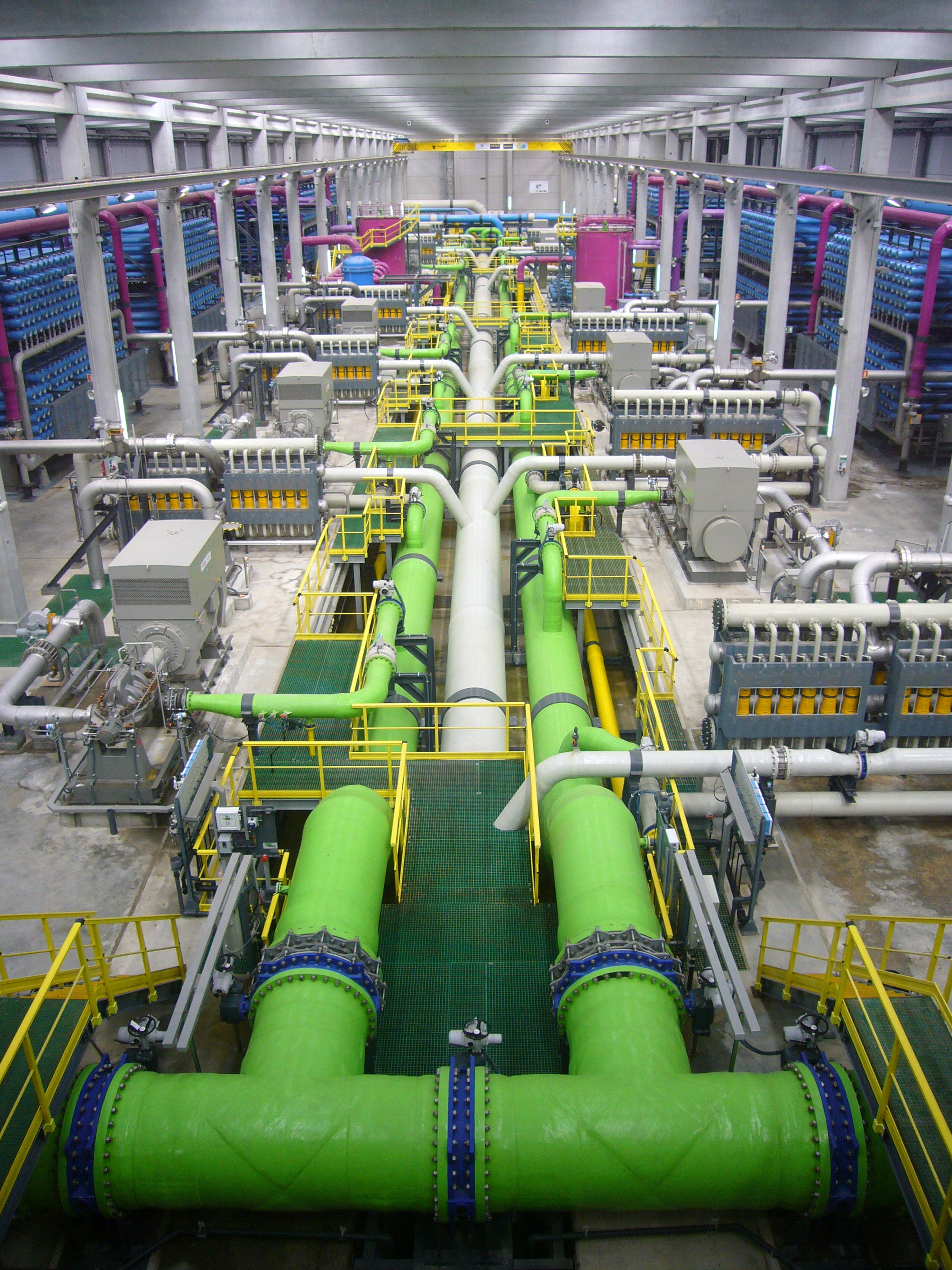 Reverse Osmosis Desalination Plant in Barcelona Spain [2 112