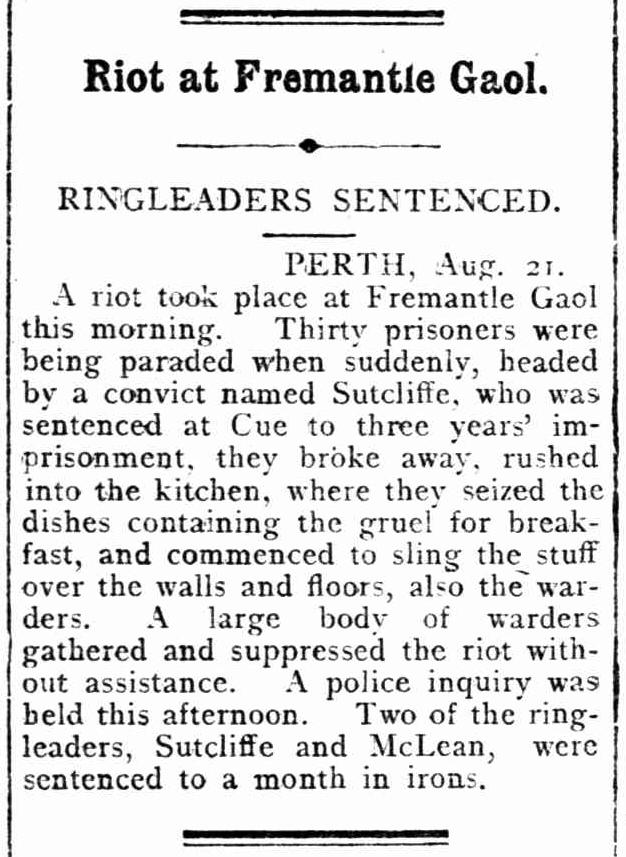 File:Riot at Fremantle Gaol (The Kalgoorlie Miner 22 August