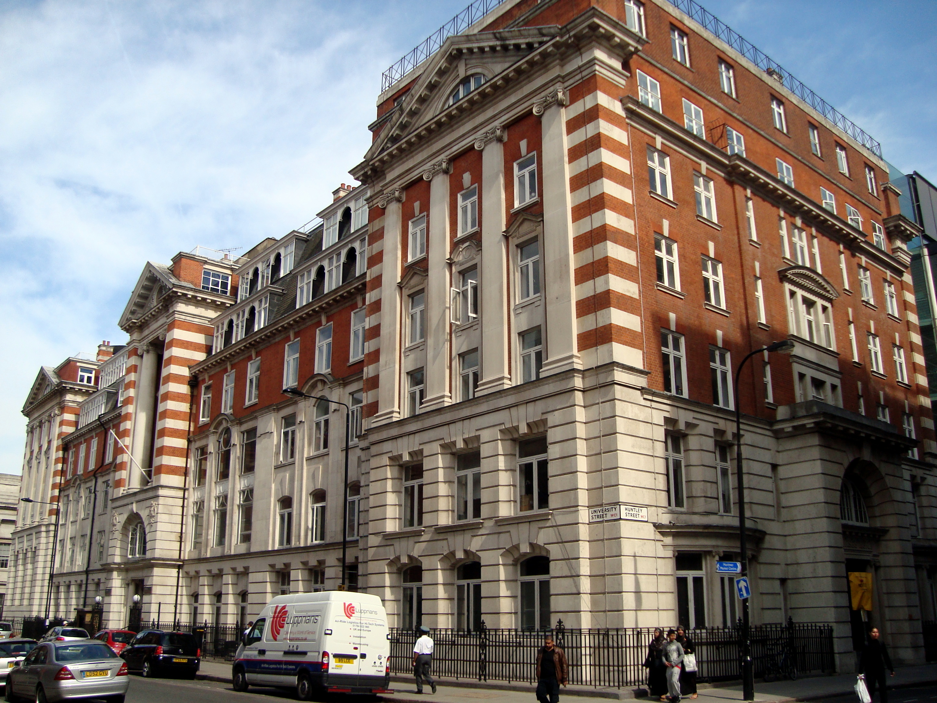 University Of London Union Building Borough
