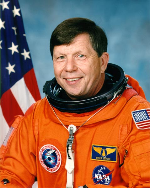Astronaut Roger Crouch PhD, NASA photo Source: Wikipedia (www.jsc.nasa.gov unavailable September 2019) Roger_Crouch.jpg