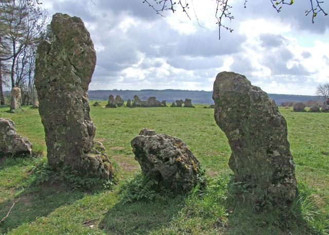Rollright Stones - geograph.org.uk - 1339815