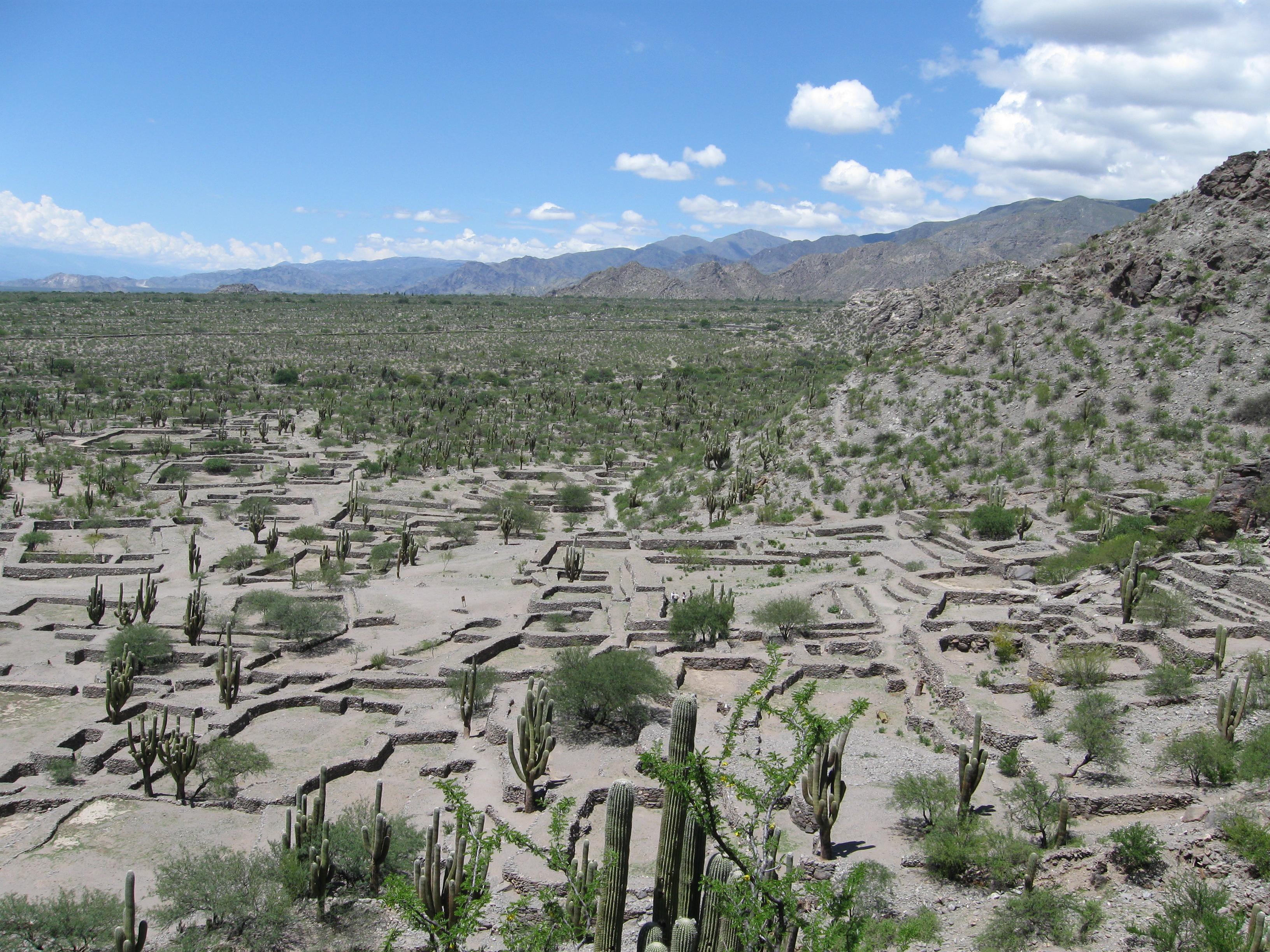 Ruinas de quilmes costado
