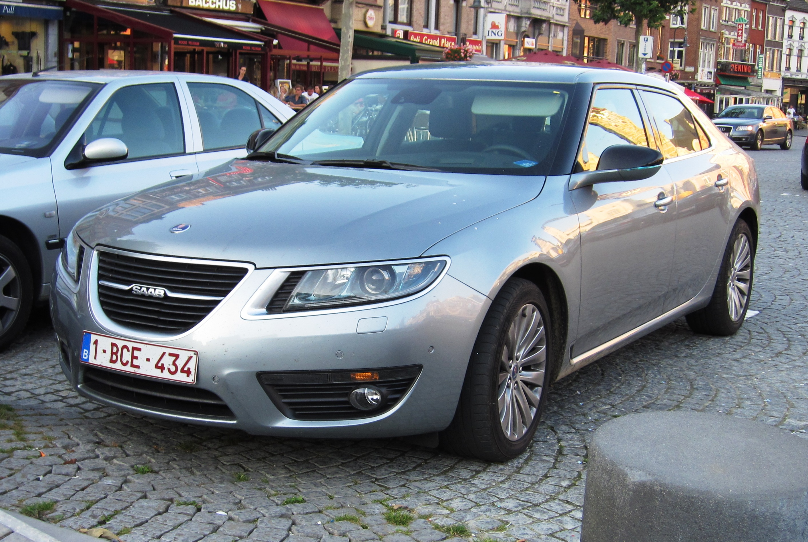 file saab 9 5 2011 in st wikimedia commons. Black Bedroom Furniture Sets. Home Design Ideas