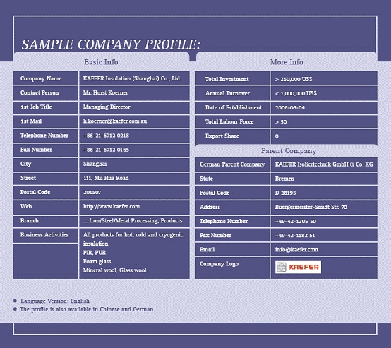 File:Sample Company Profile.JPG  Company Business Profile Sample
