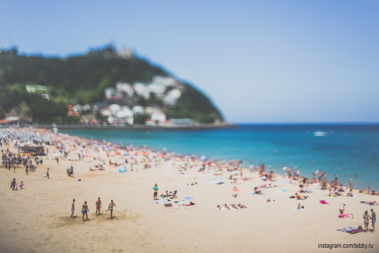 Пляж ла конча полезная вещь