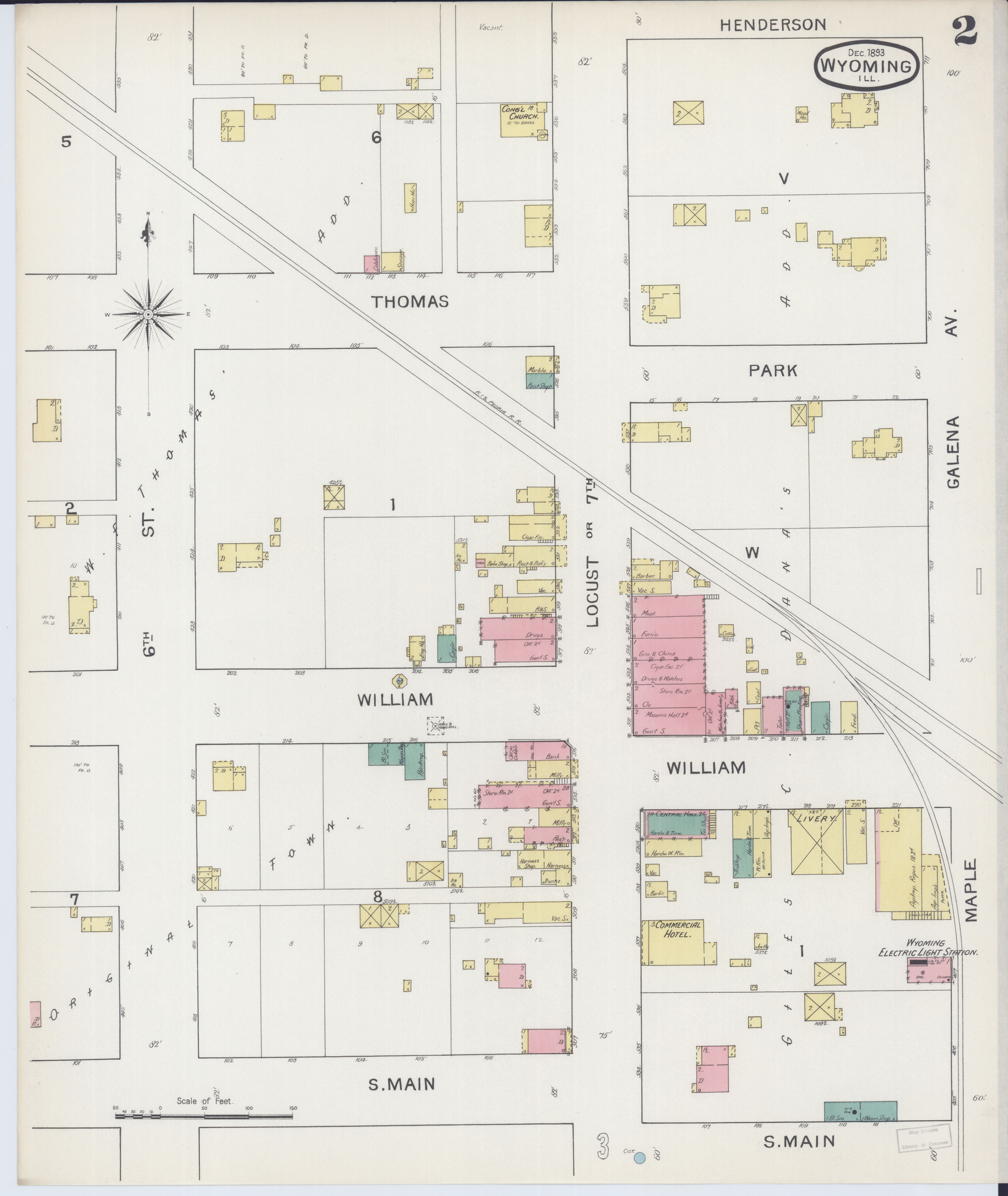 File Sanborn Fire Insurance Map From Wyoming Stark County Illinois