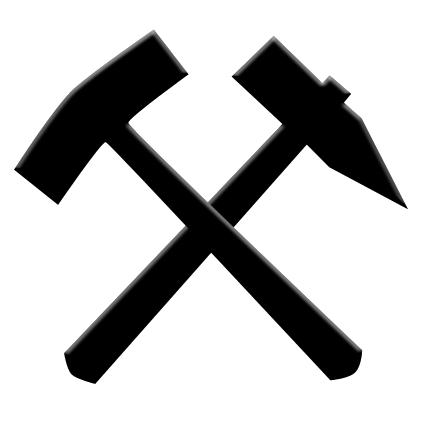 File:Schlaegel und eisen-sign of mining.png - Wikimedia ...