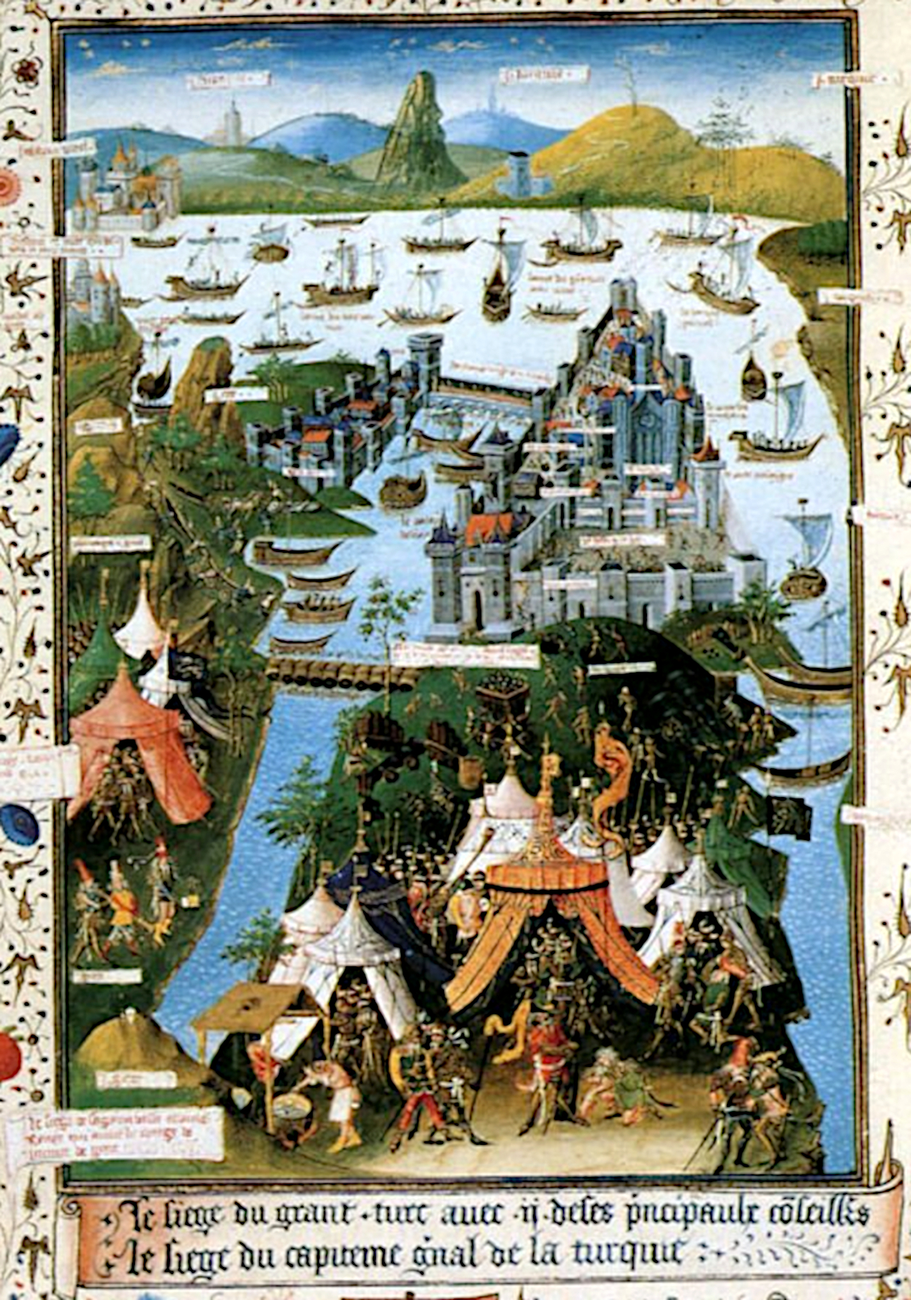 Siège de Constantinople