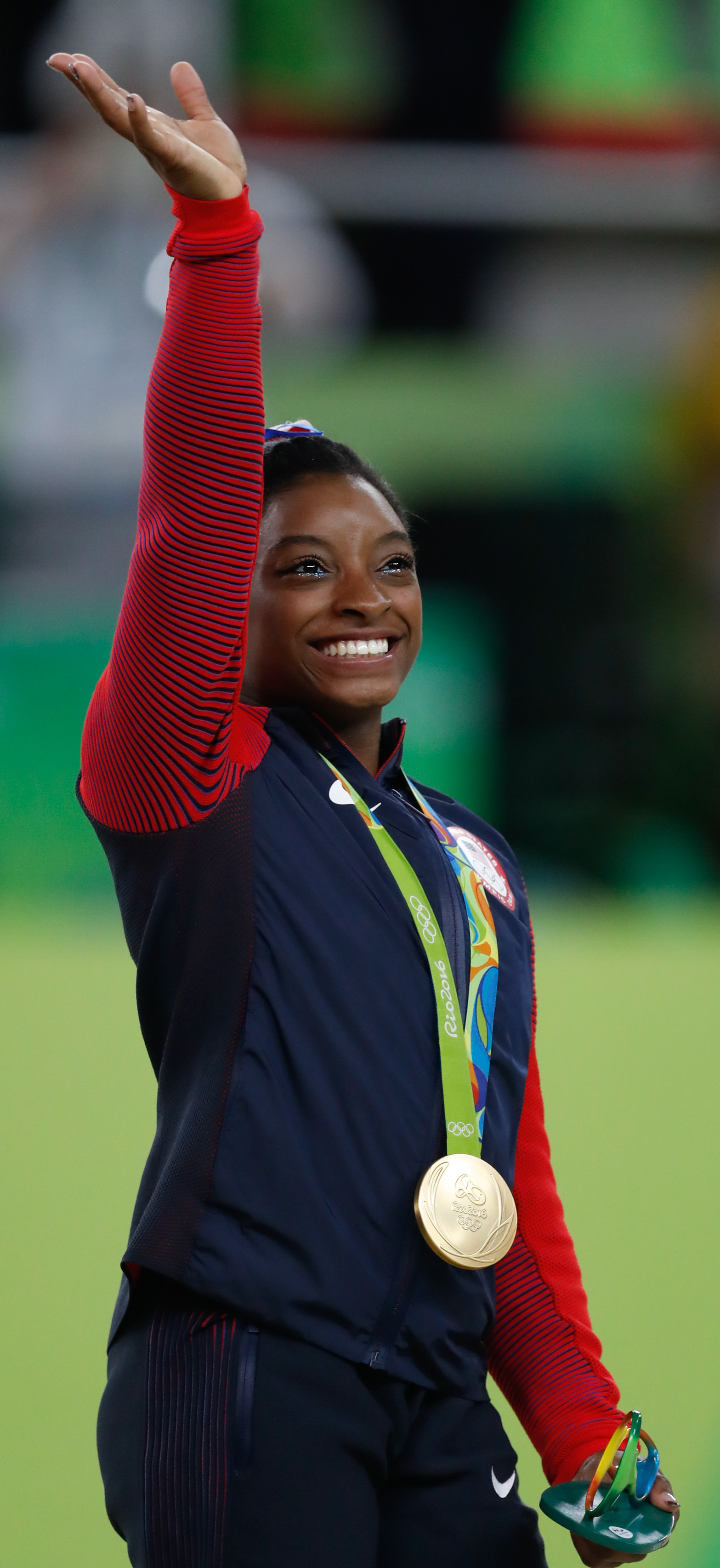 The 21-year old daughter of father Ronald Biles and mother Nellie Biles Simone Biles in 2018 photo. Simone Biles earned a  million dollar salary - leaving the net worth at 2 million in 2018