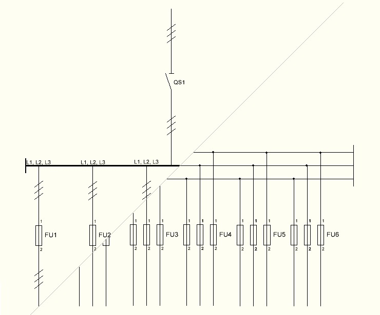 single line wiring diagram