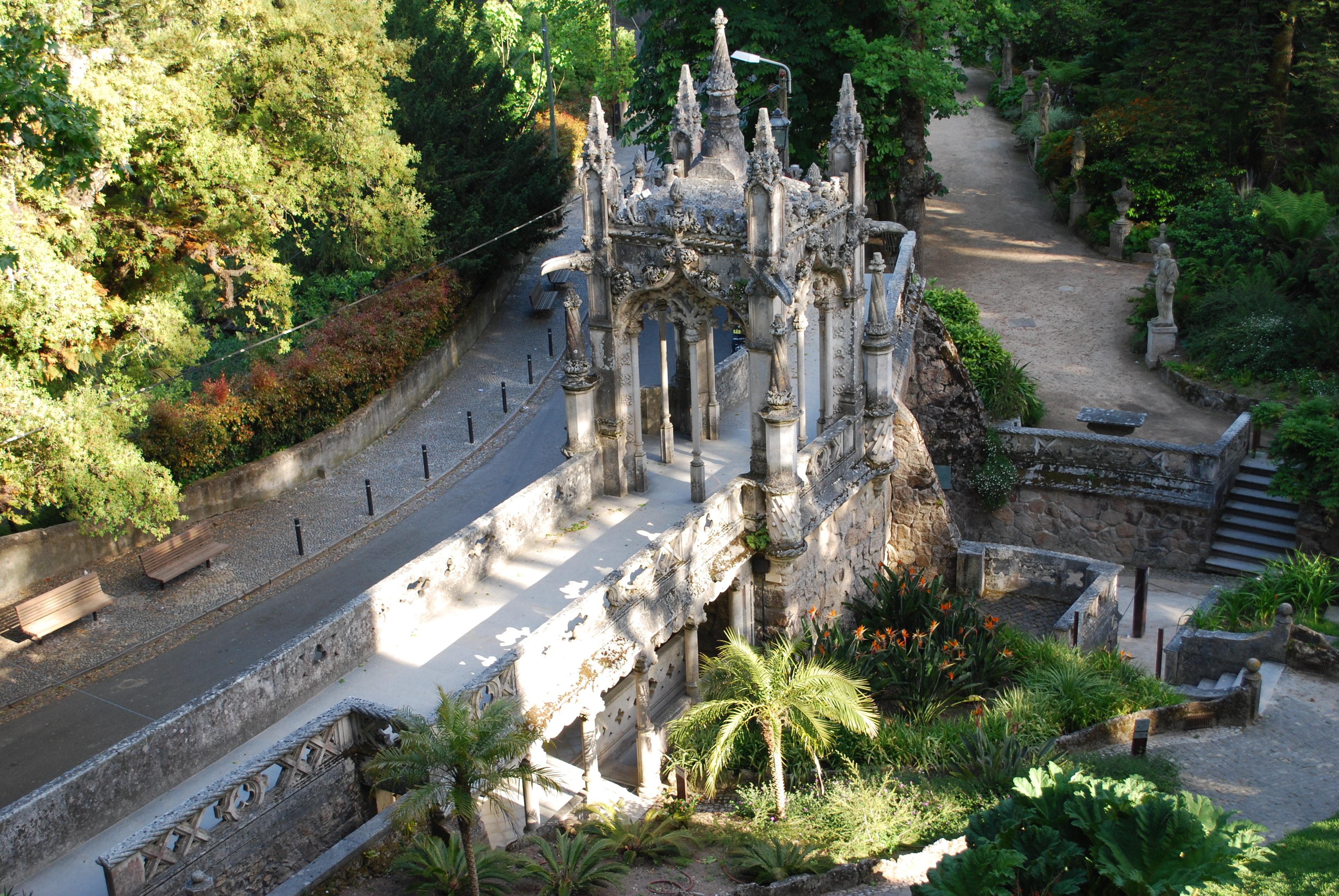 Image result for Quinta da Regaleira in Portugal