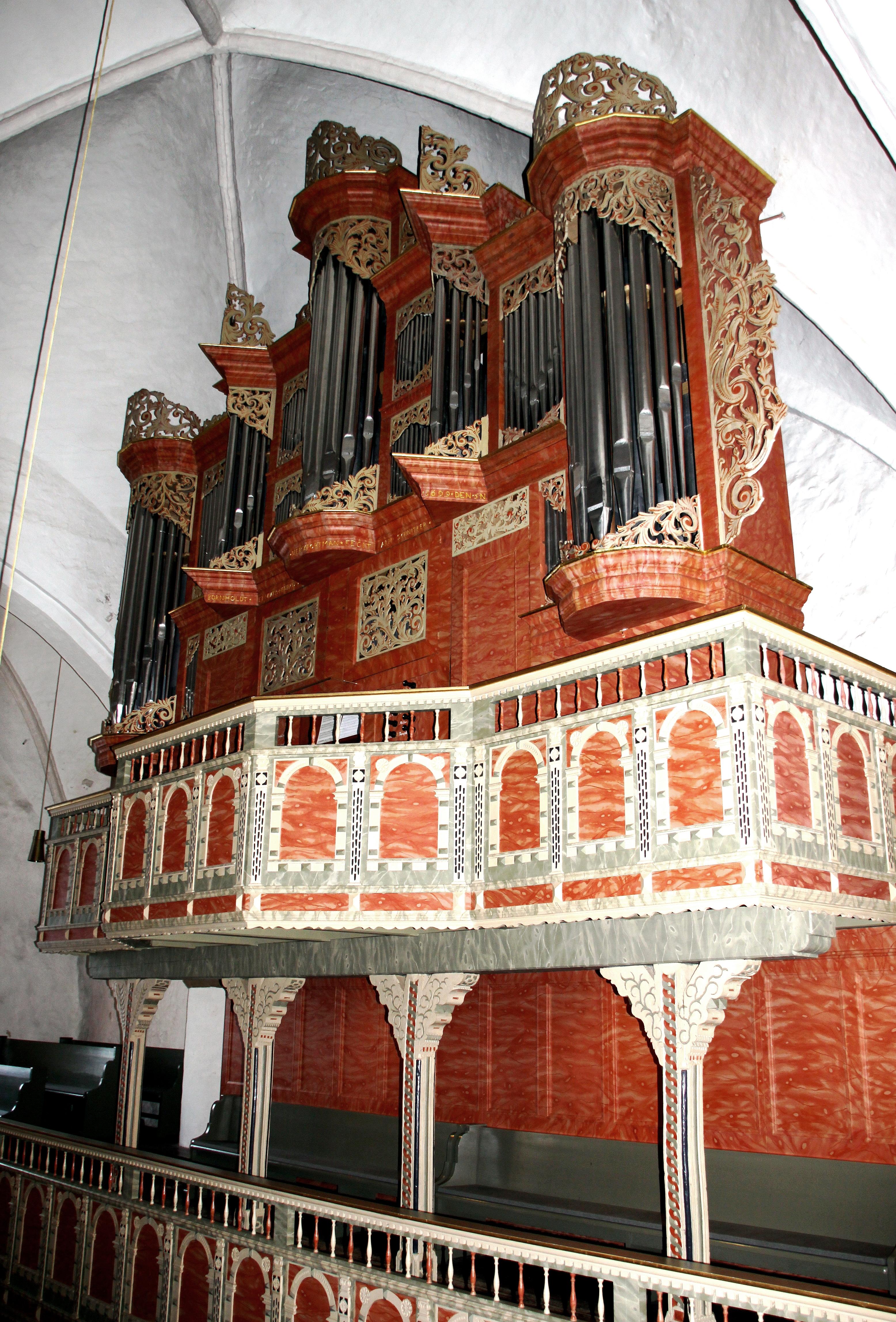 organo Schnitger a Ganderkesee