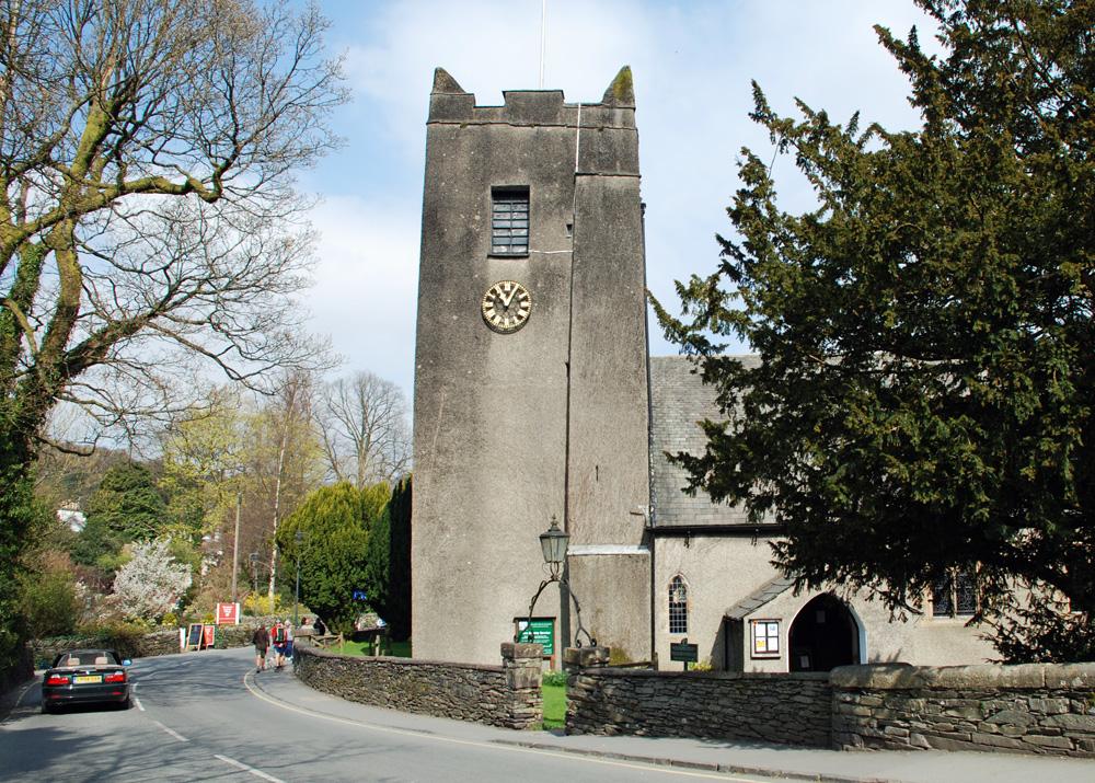 St Oswald's Church, Grasmere - Wikipedia