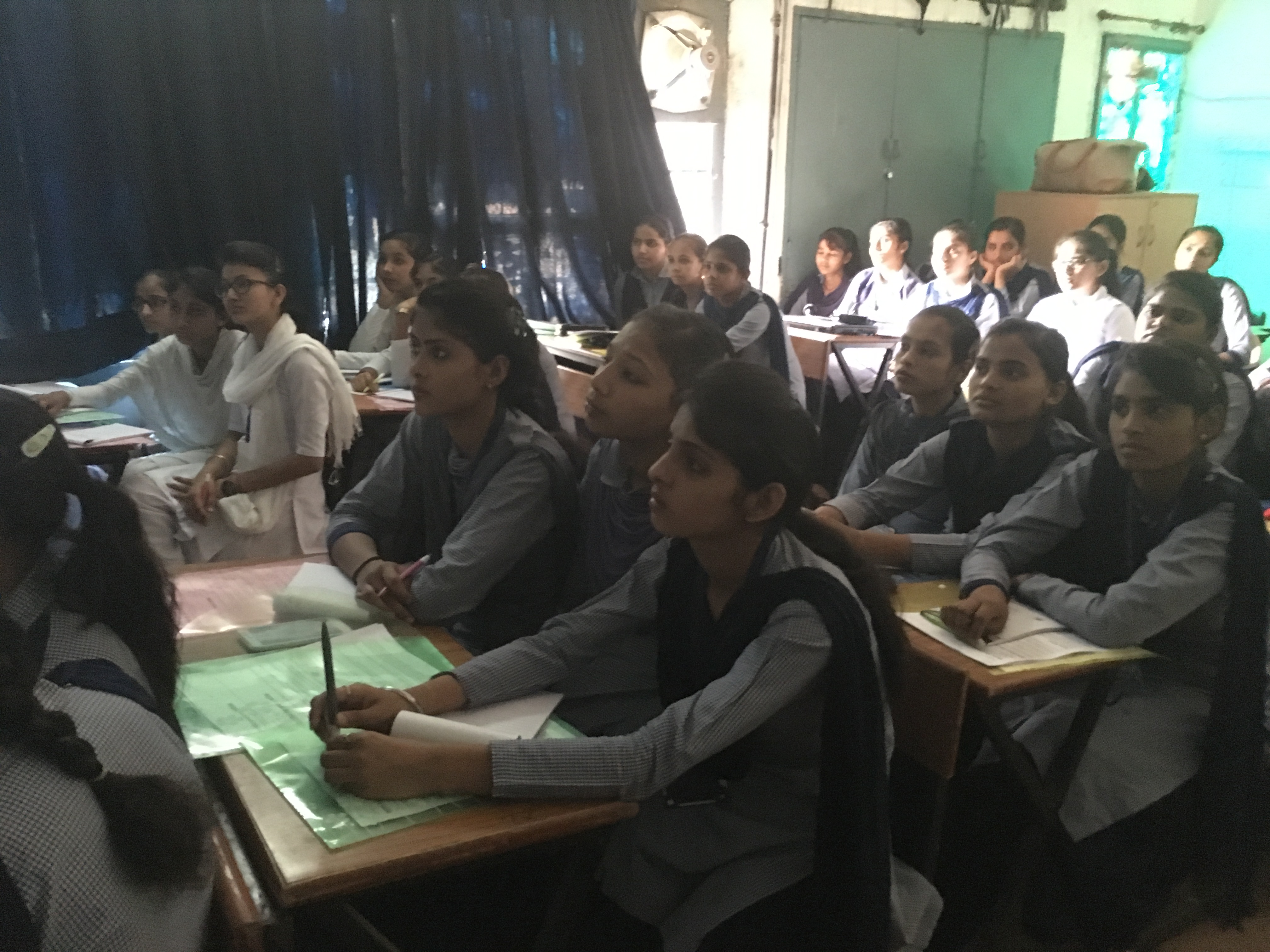 File Students During Wiki Awareness Campaign Karnal 01 Jpg
