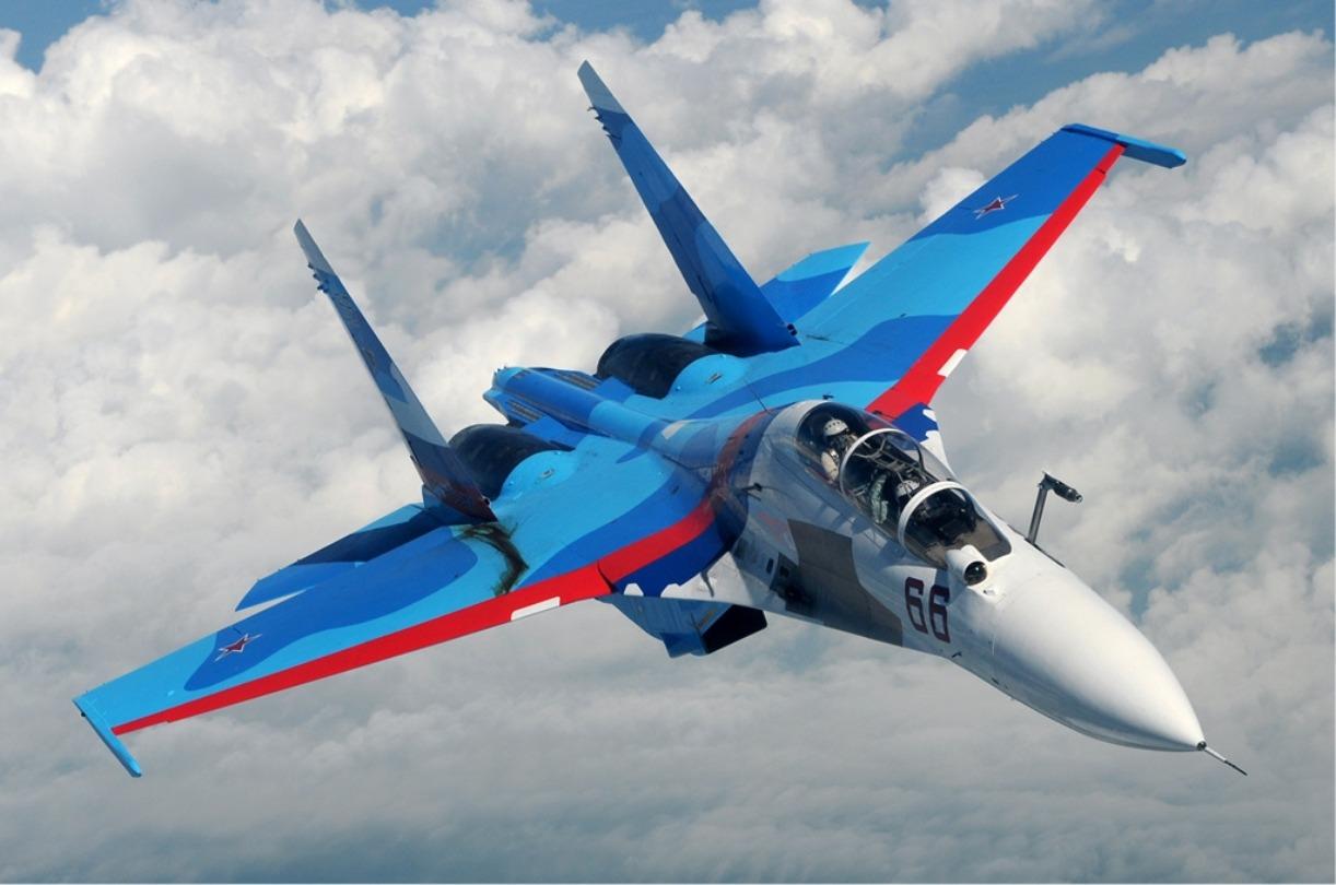 Depiction of Sukhoi Su-30