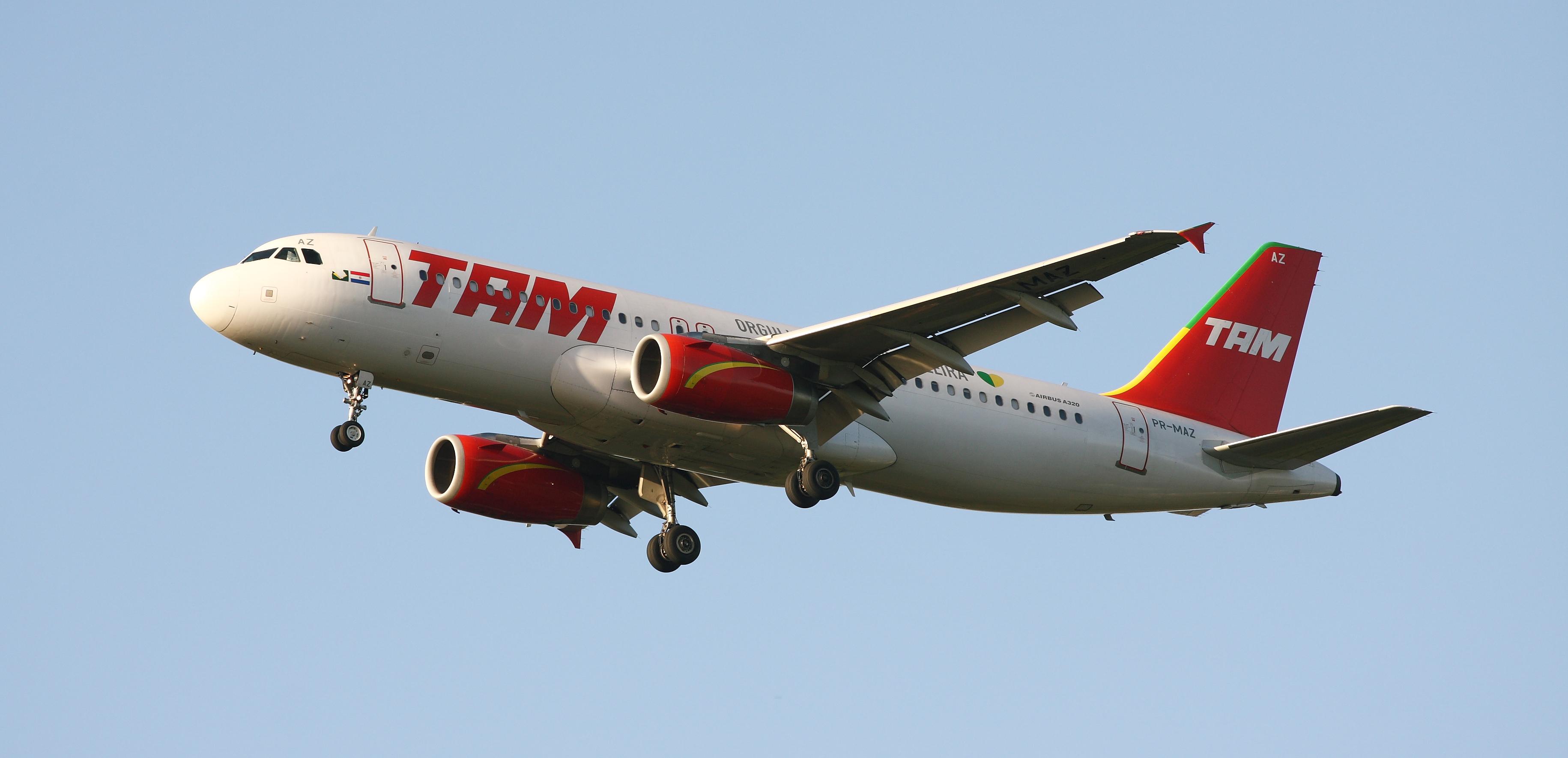 Resultado de imagen para TAM A320