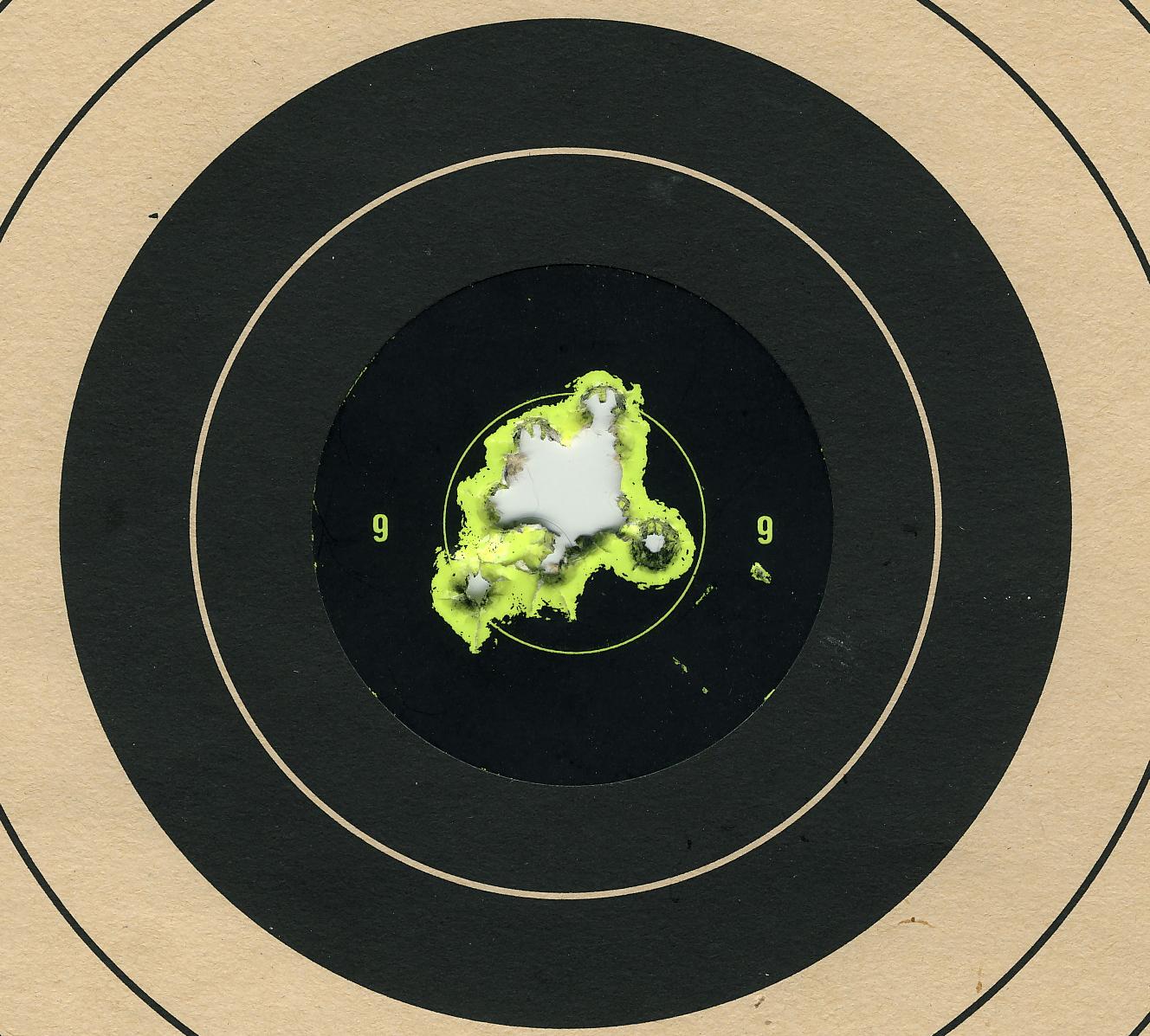 Image result for hitting the pistol target Bullseye