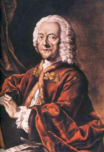 Depiction of Georg Philipp Telemann