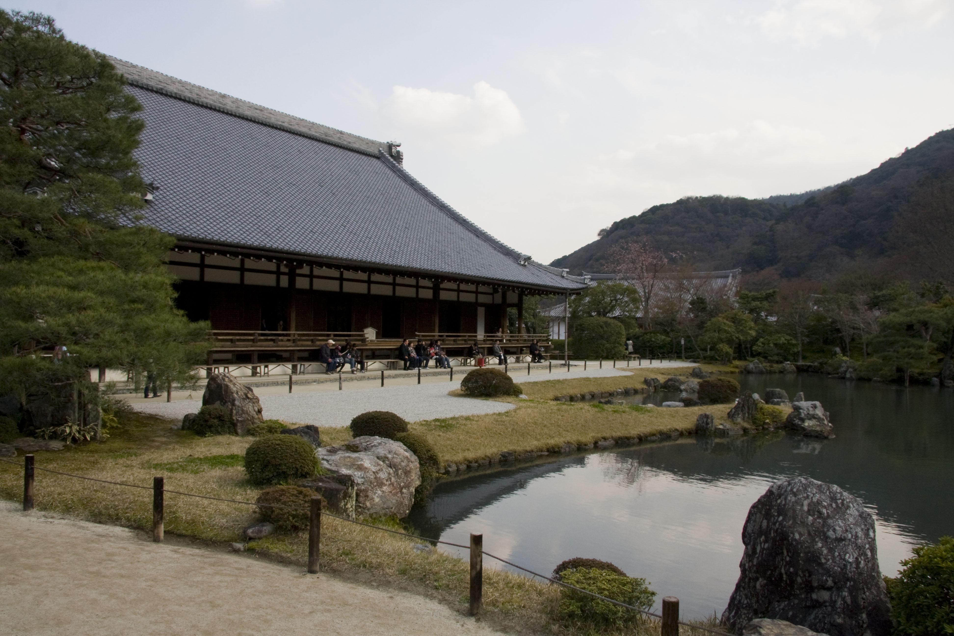 Asia, Japan, Honshu, Kyoto, Arashiyama, Tenryuji Temple, Tenryuji ...