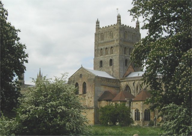 Tewkesbury Abbey - geograph.org.uk - 468567